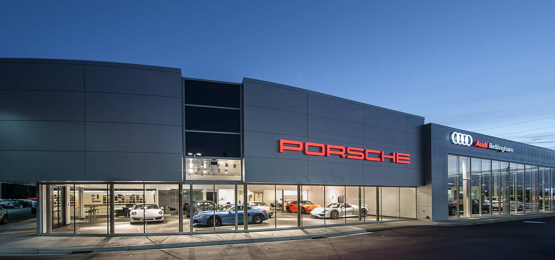 Bellingham Porsche & Audi Dealership