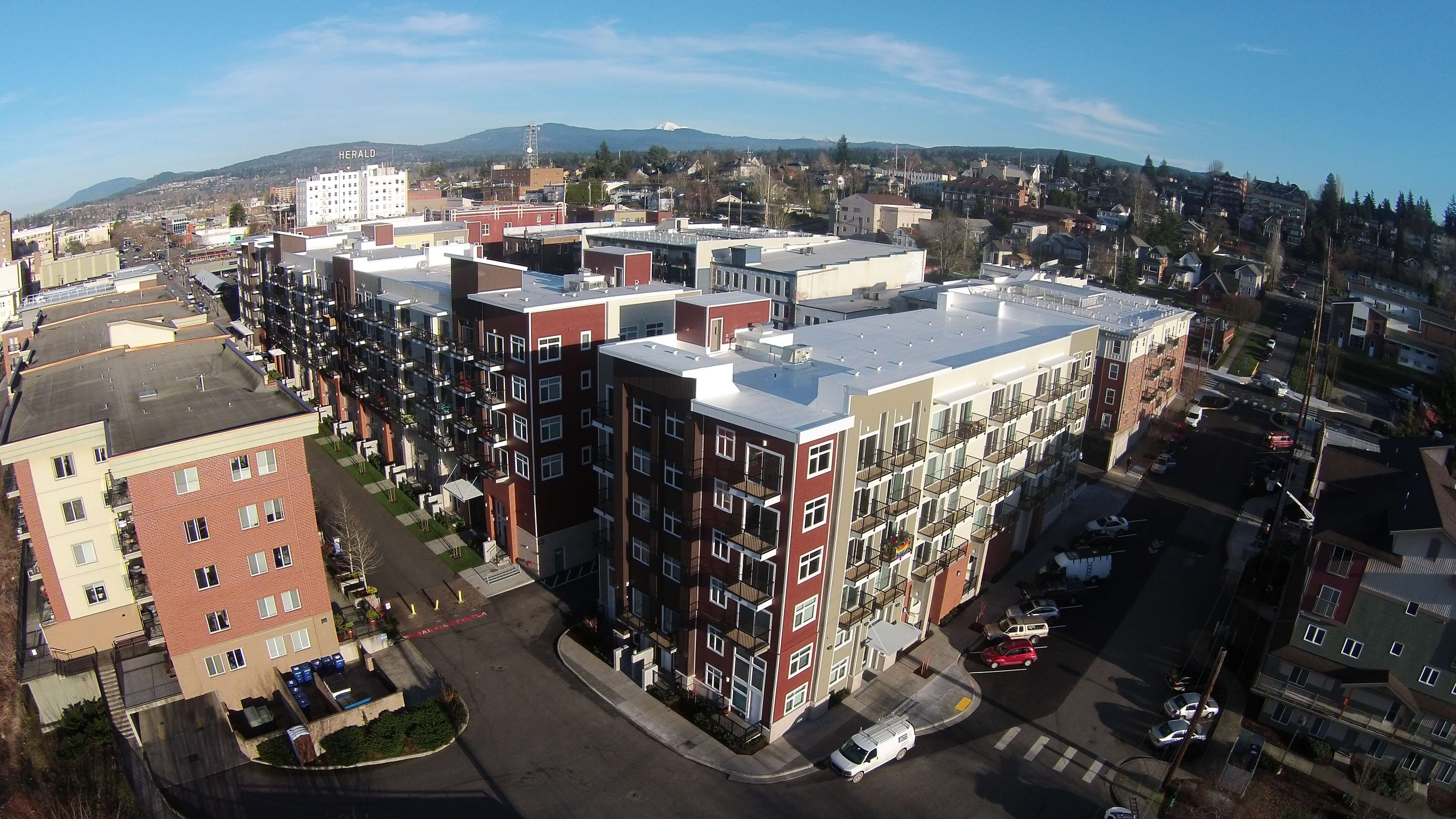 Expand Maple Street Apartments Overhead