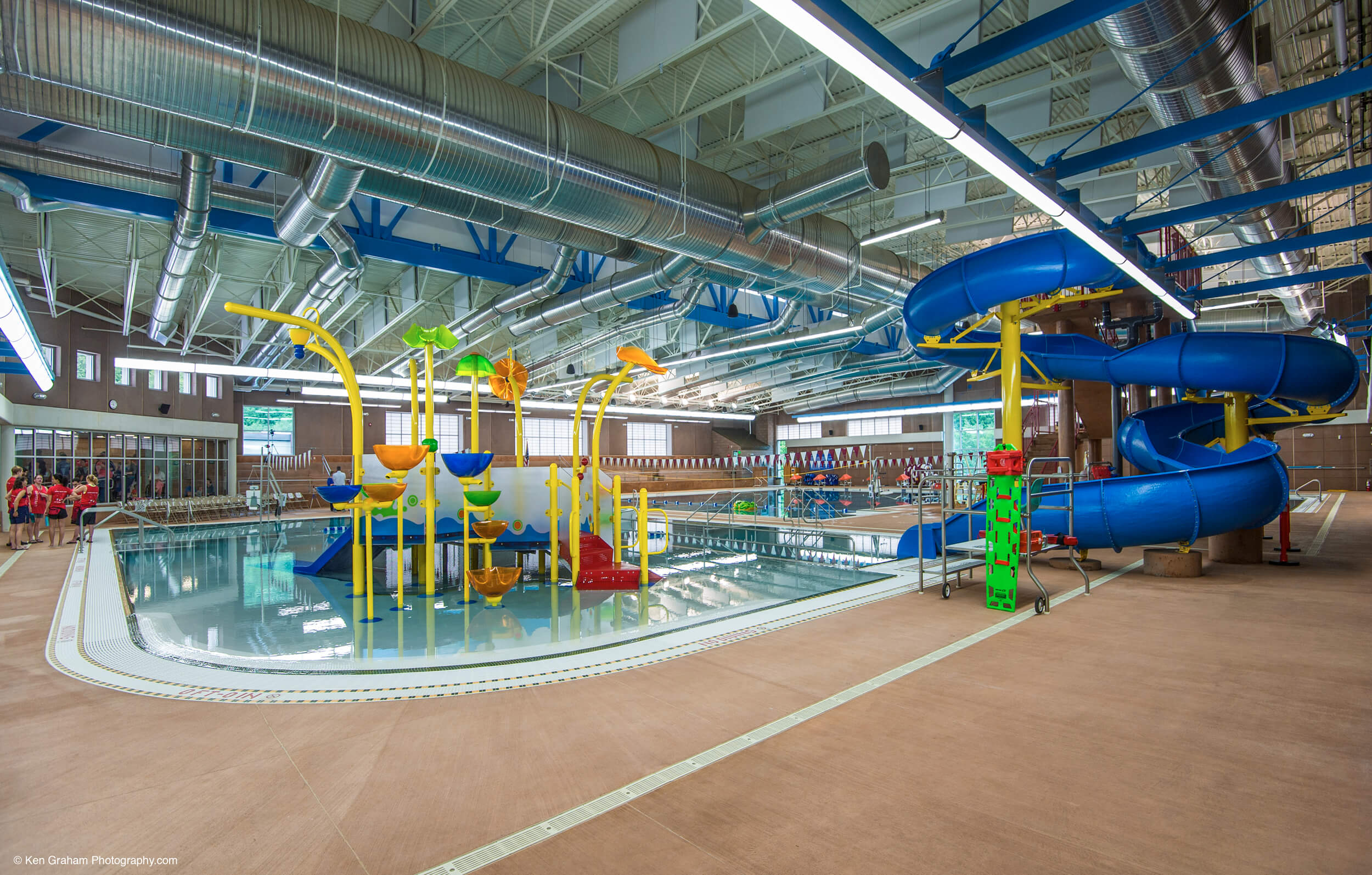 Ketchikan Aquatic Center Water SLides