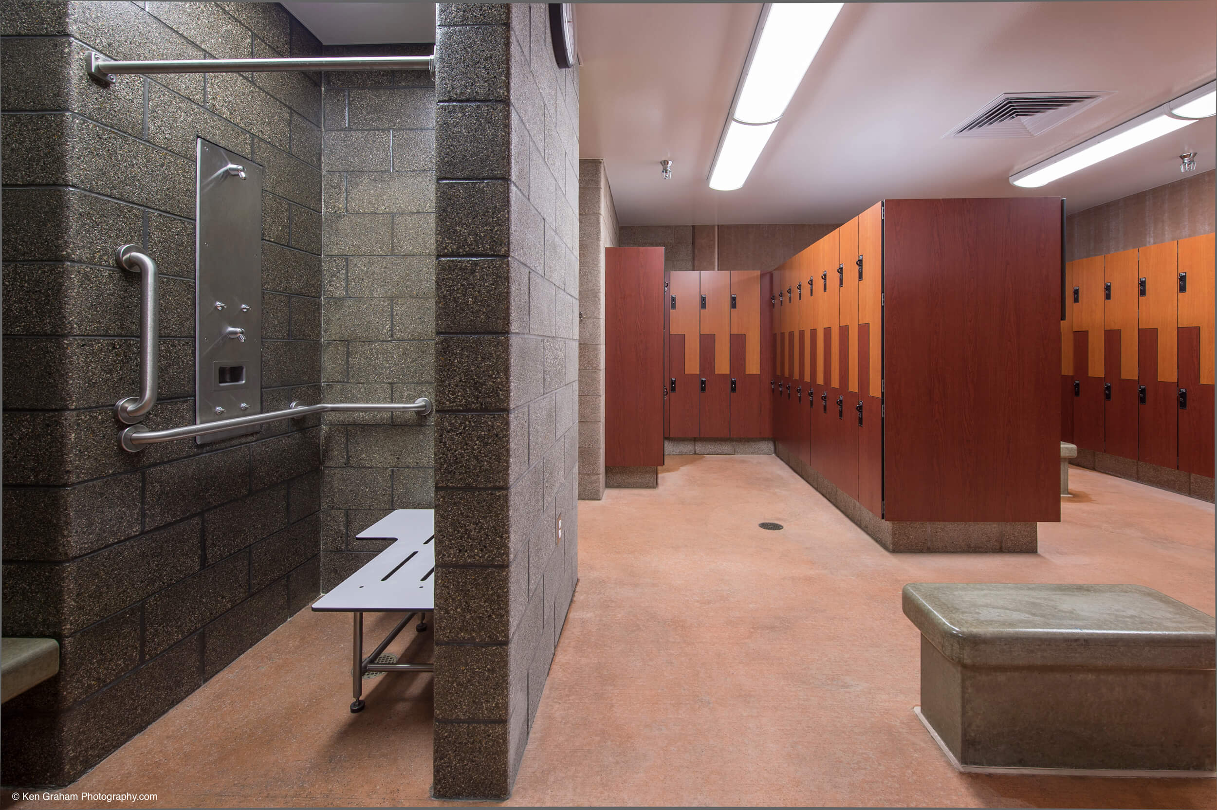 Ketchikan Aquatic Center Locker Room