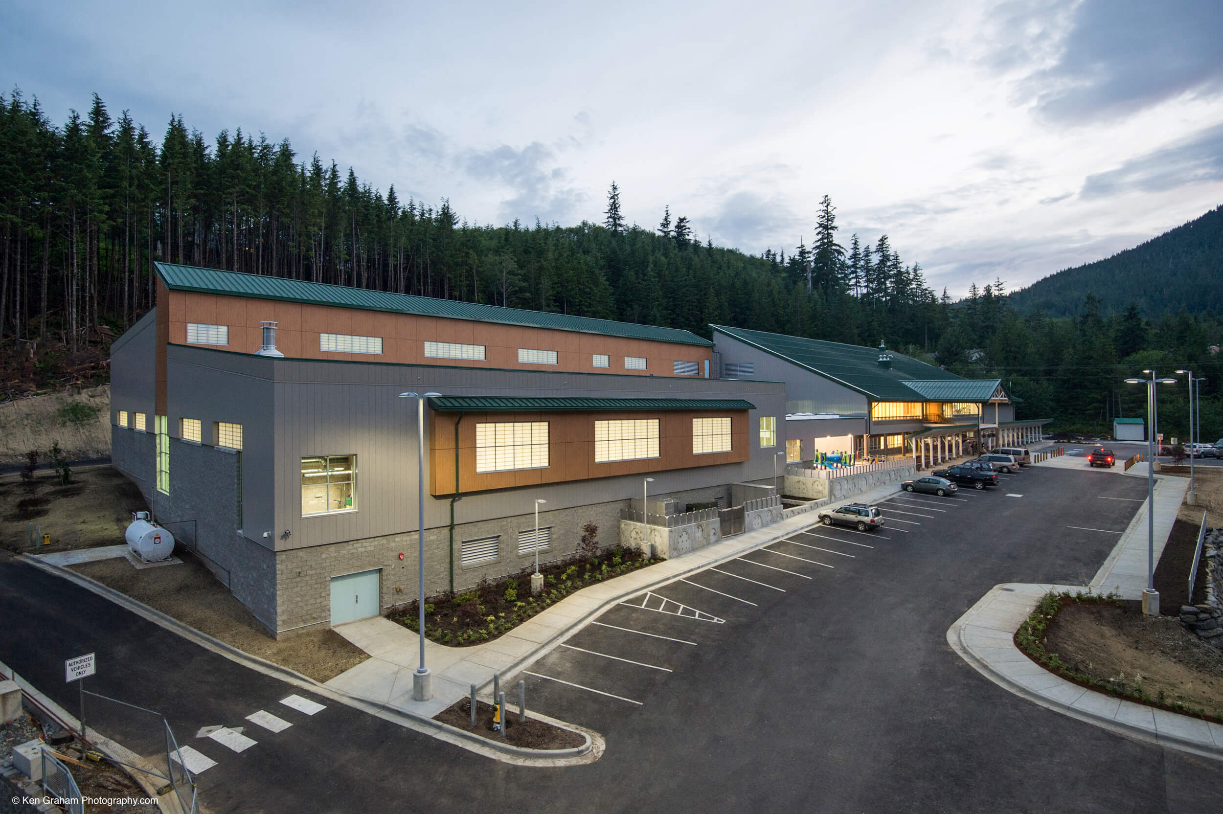 Expand Ketchikan Aquatic Center Exterior