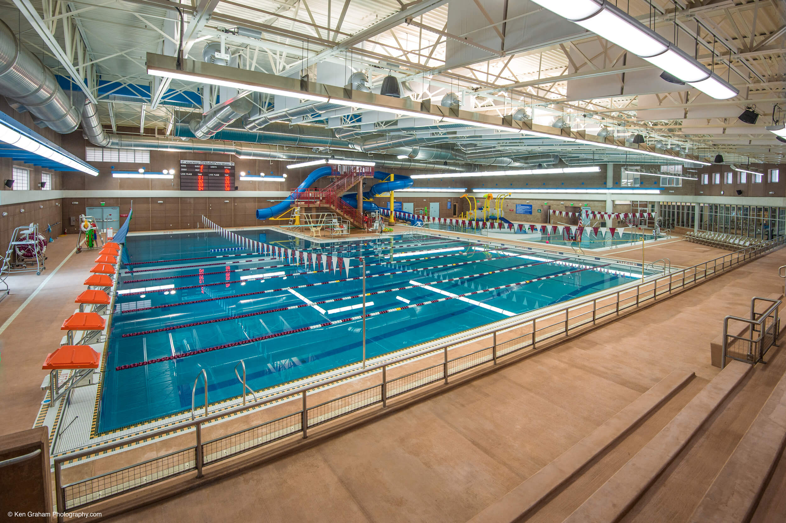 Ketchikan Aquatic Center Swimming Lanes
