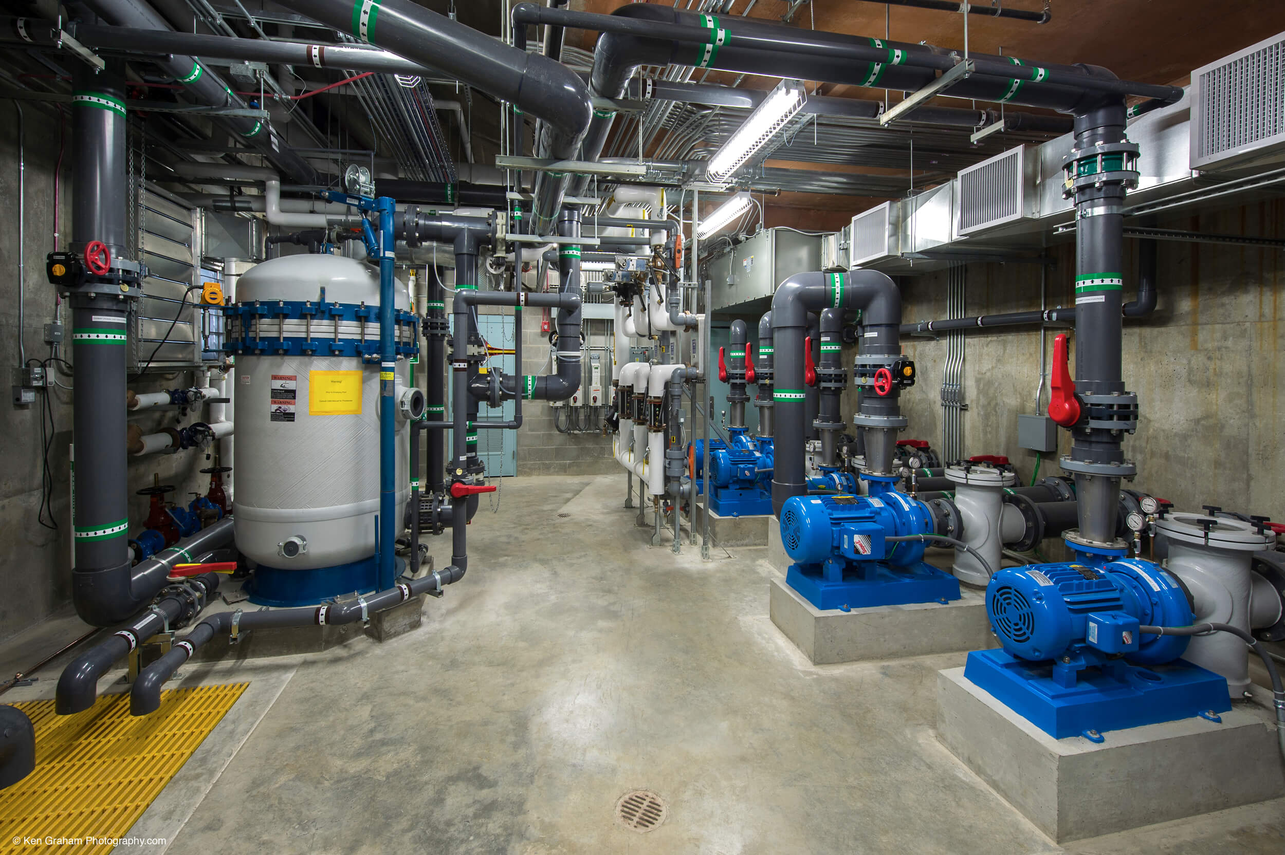 Expand Ketchikan Aquatic Center Pump Room