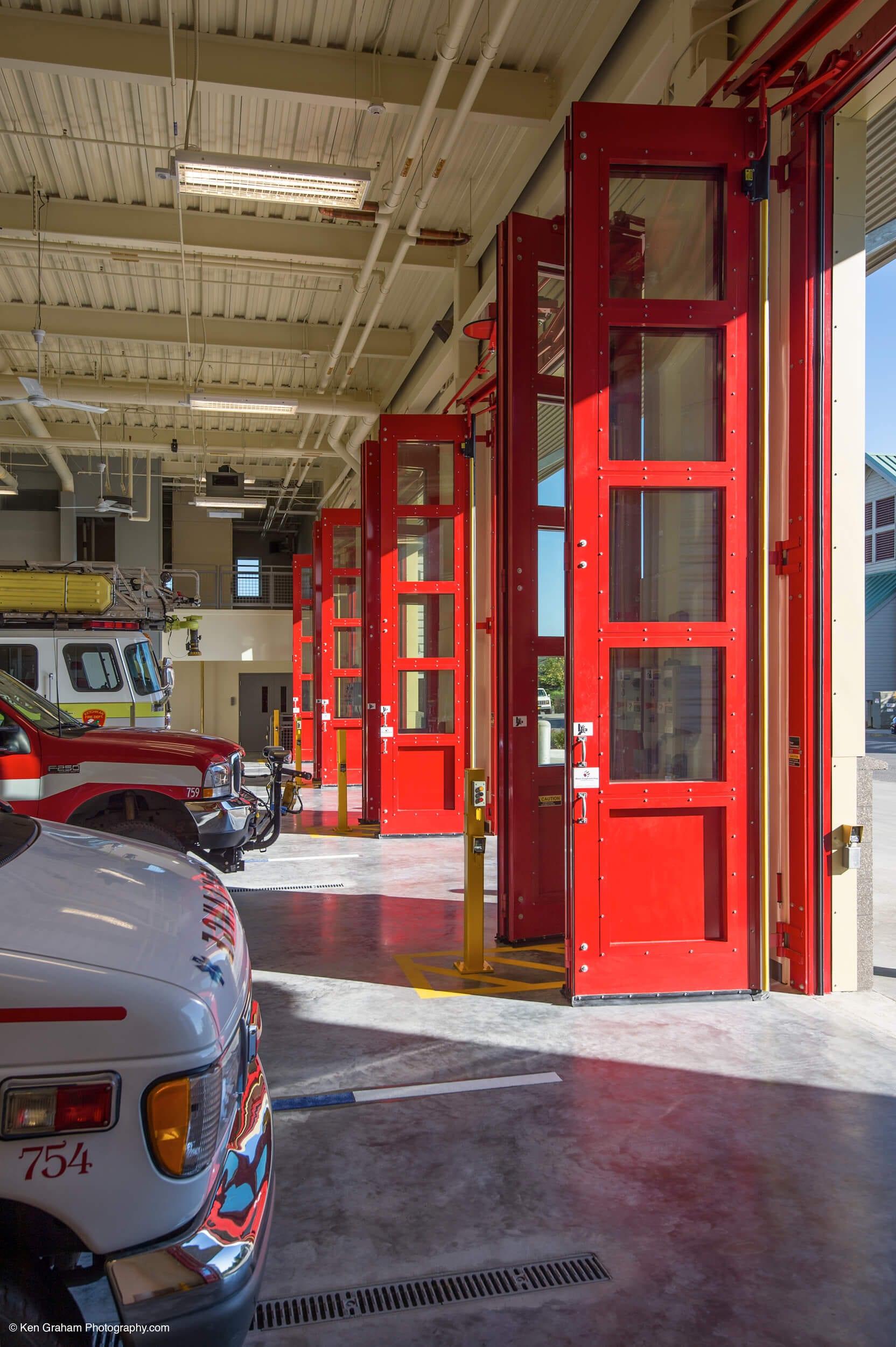 Expand Ketchikan Fire Station No 1 Garage Doors