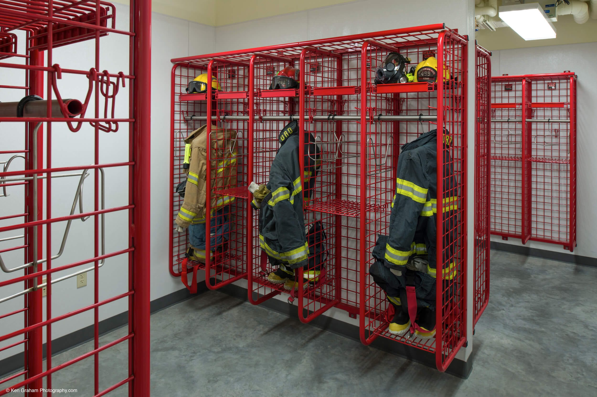 Expand Ketchikan Fire Station No 1 Locker Room