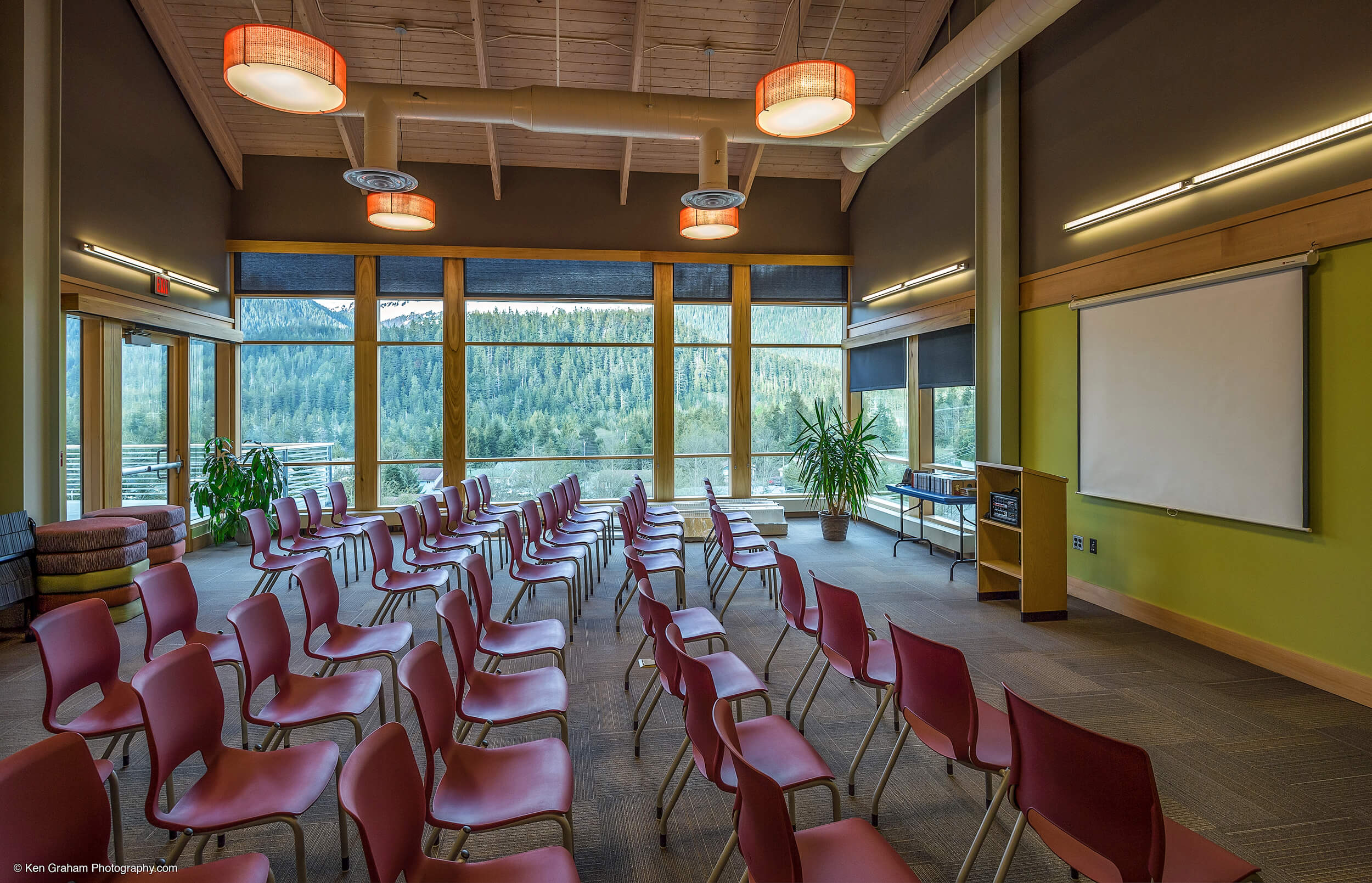 Expand Mendenhall Valley Library Presentation Room