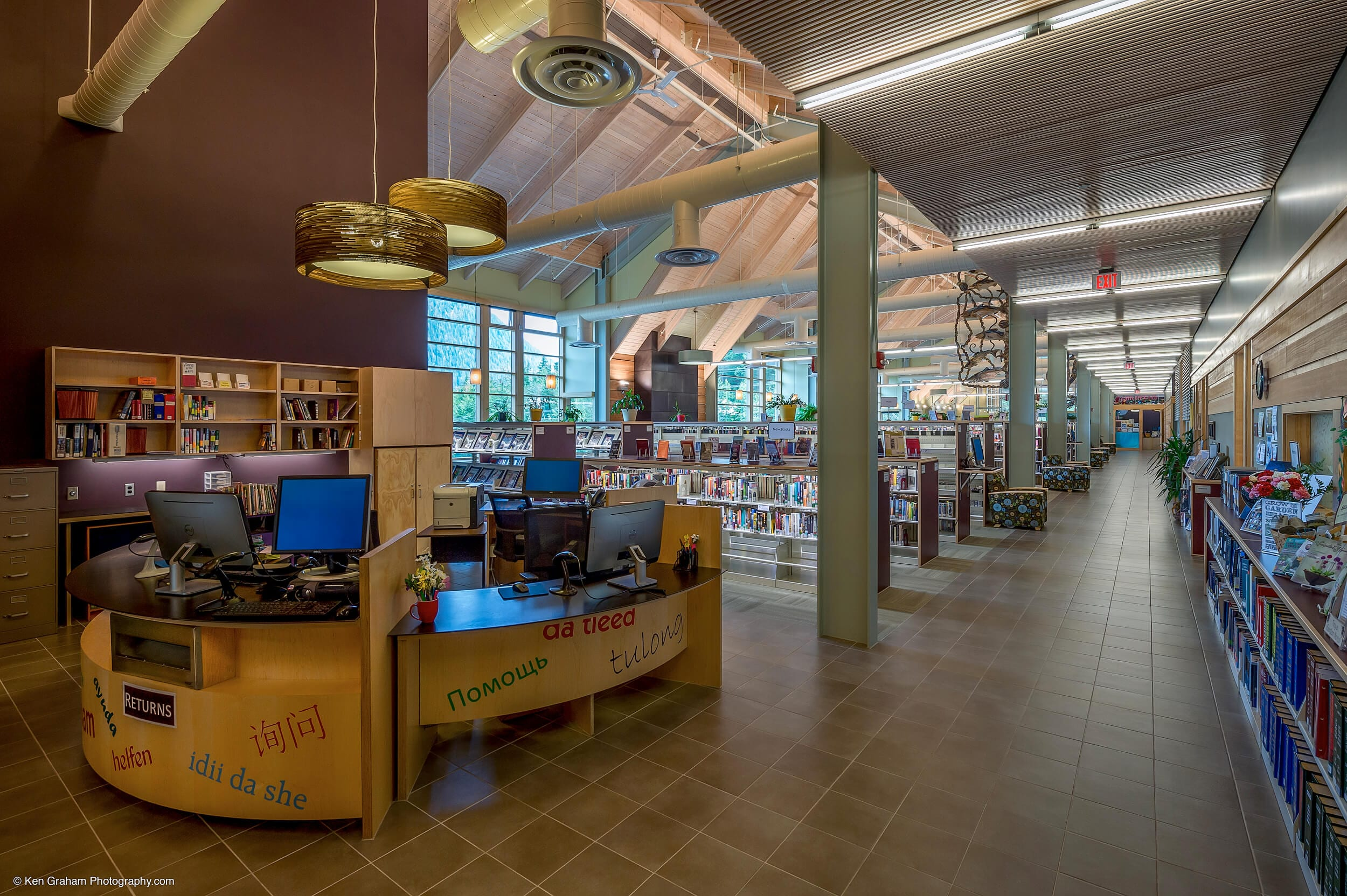 Mendenhall Valley Library Interior