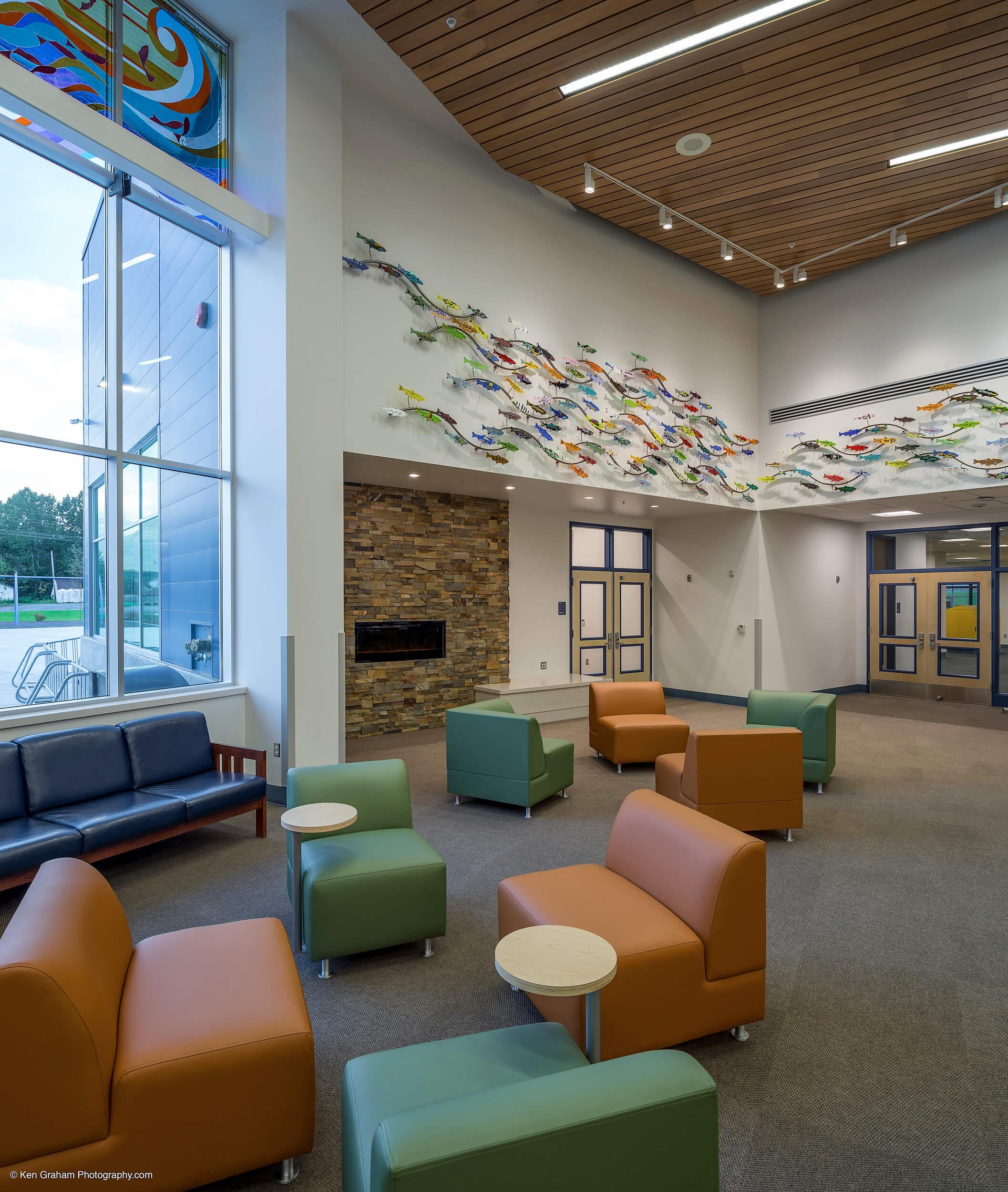 Expand Valdez Middle School Common Space