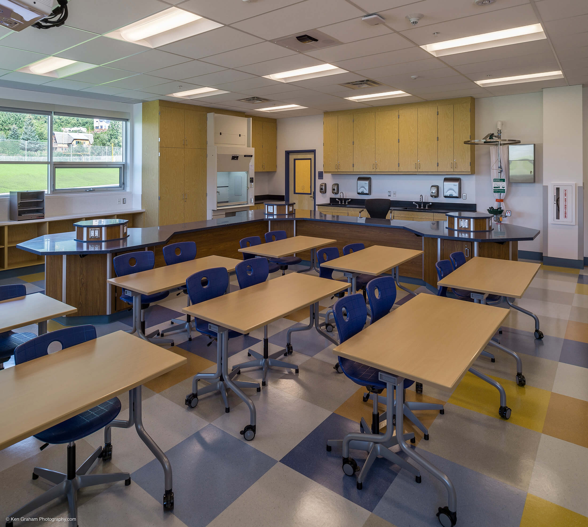 Expand Valdez Middle School Classroom