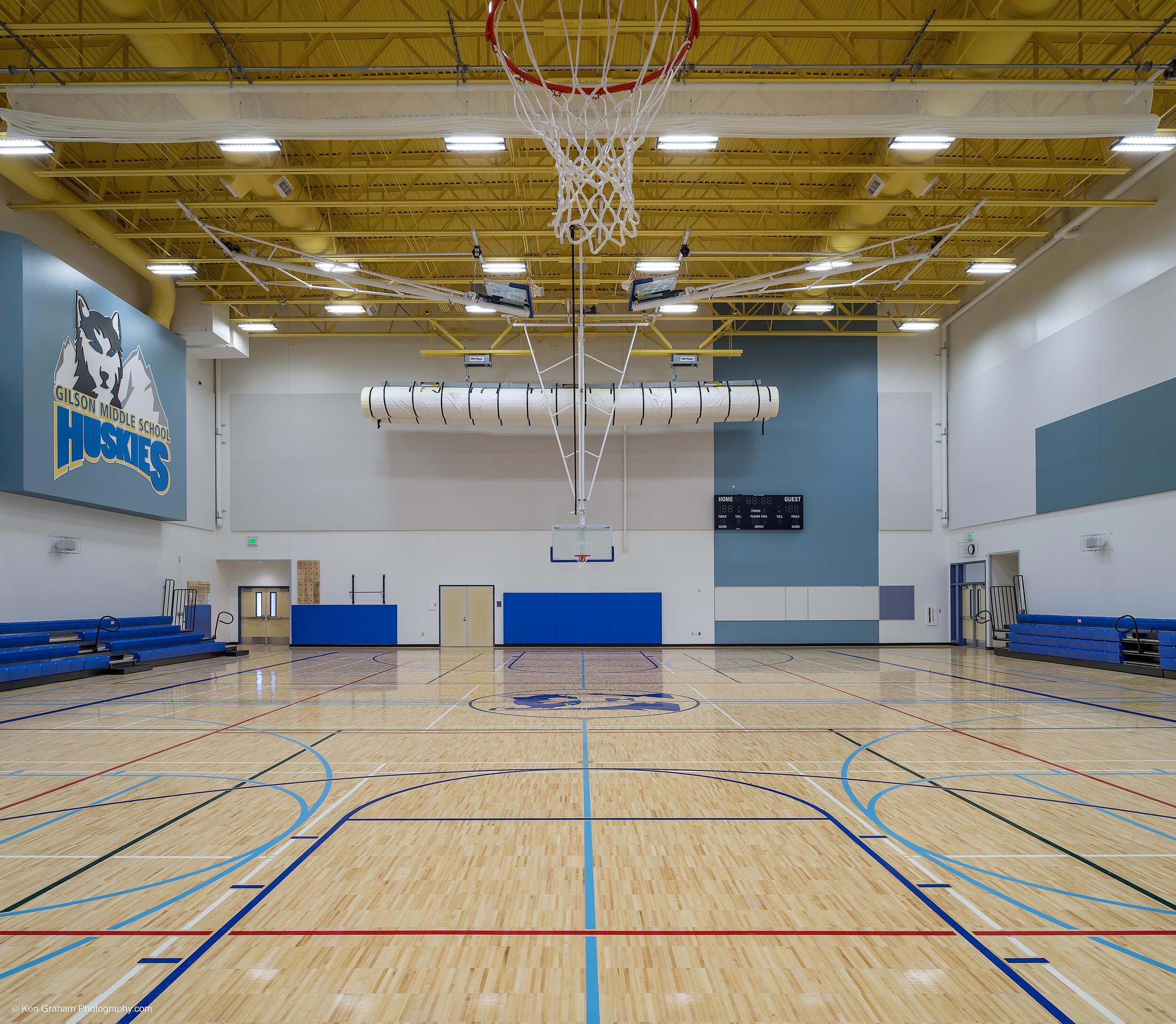 Expand Valdez Middle School Gym