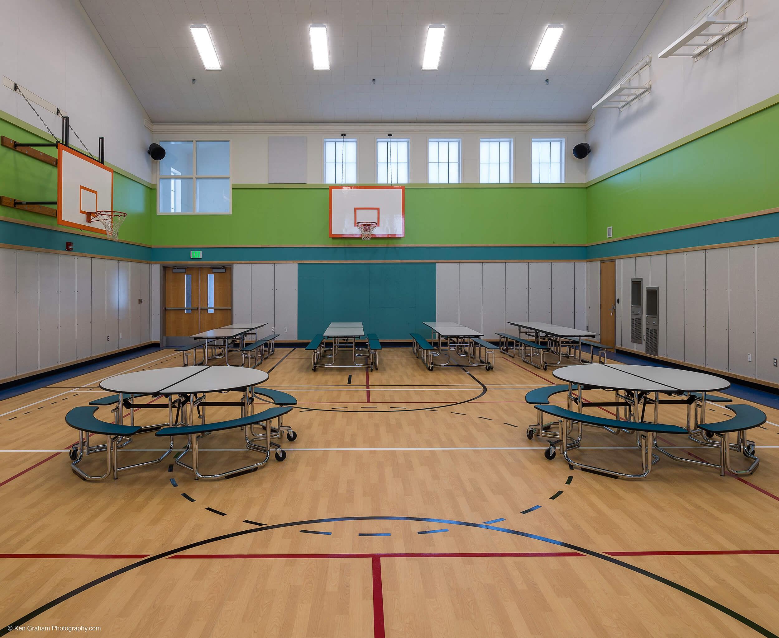 Expand Metlakatla Elementary Gym