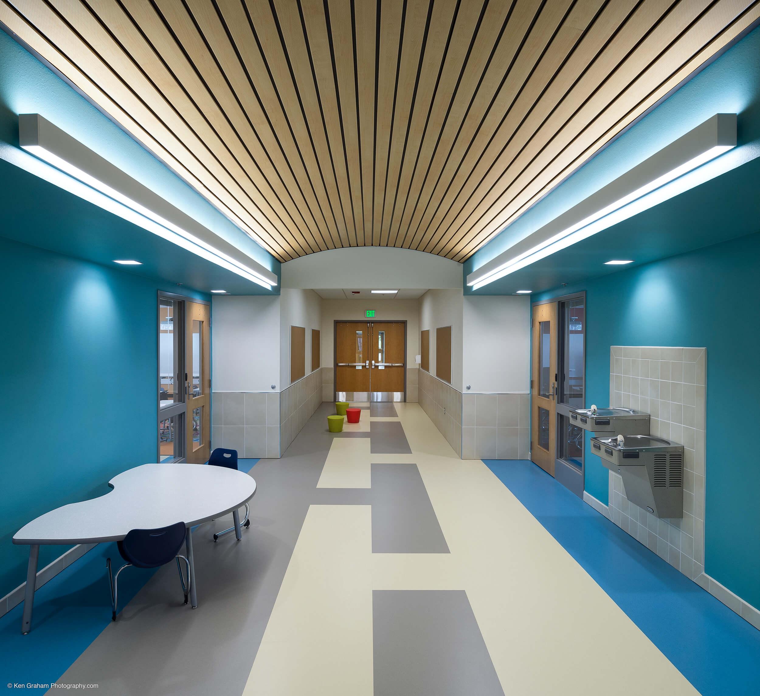 Expand Metlakatla Elementary Corridor