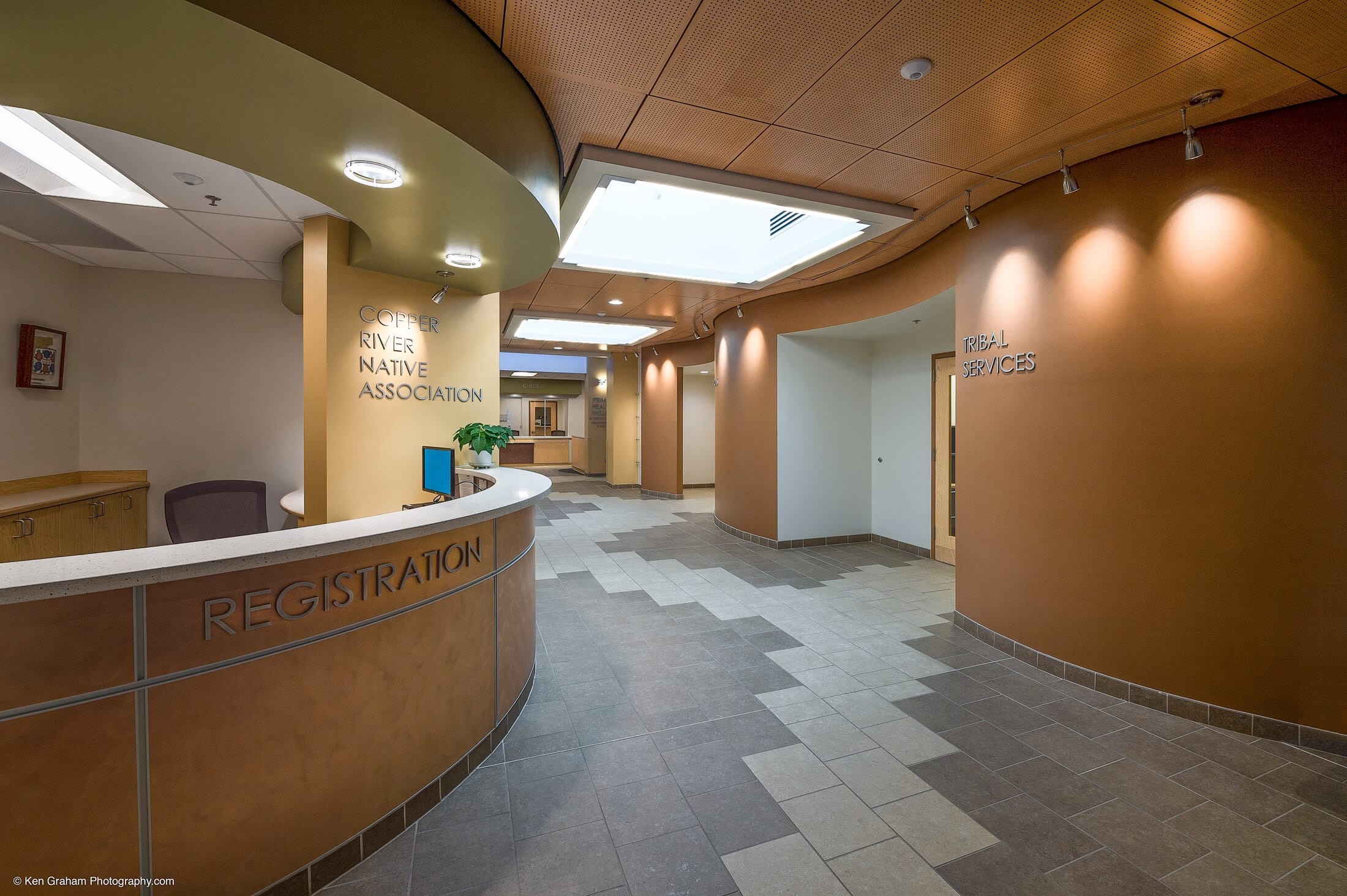 Expand Copper River Lobby