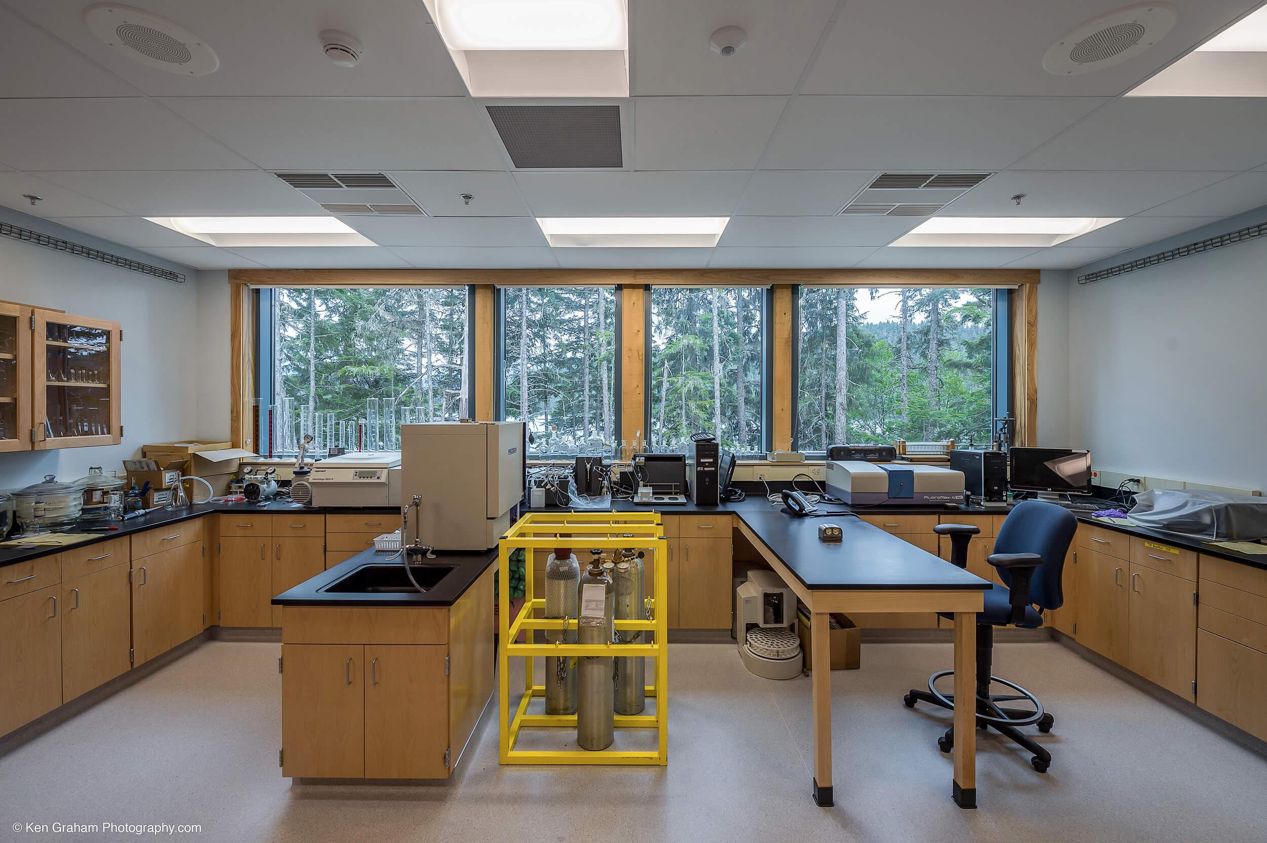 Expand USFS Juneau Lab Interior