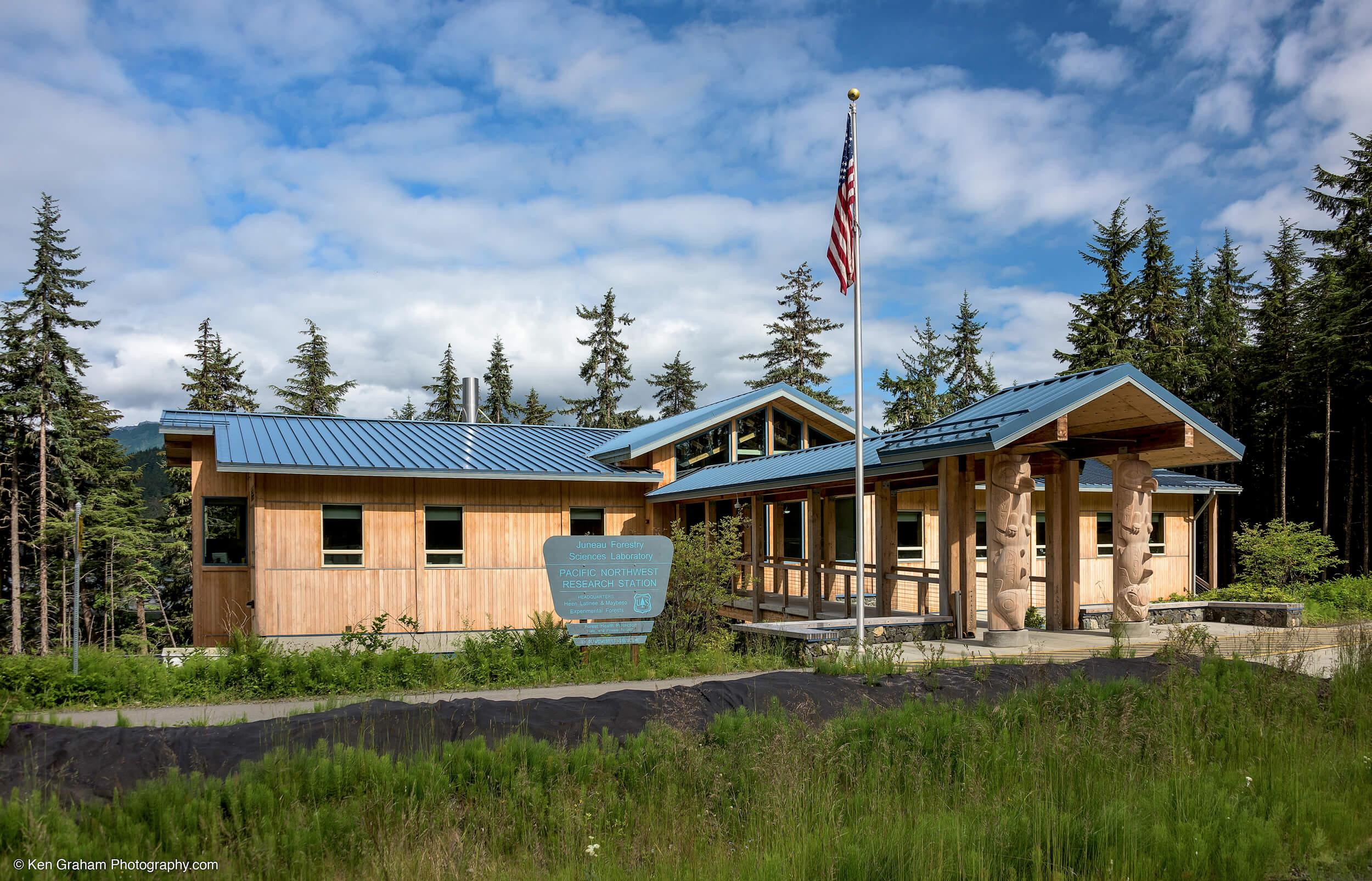 Expand USFS Juneau Lab Entrance