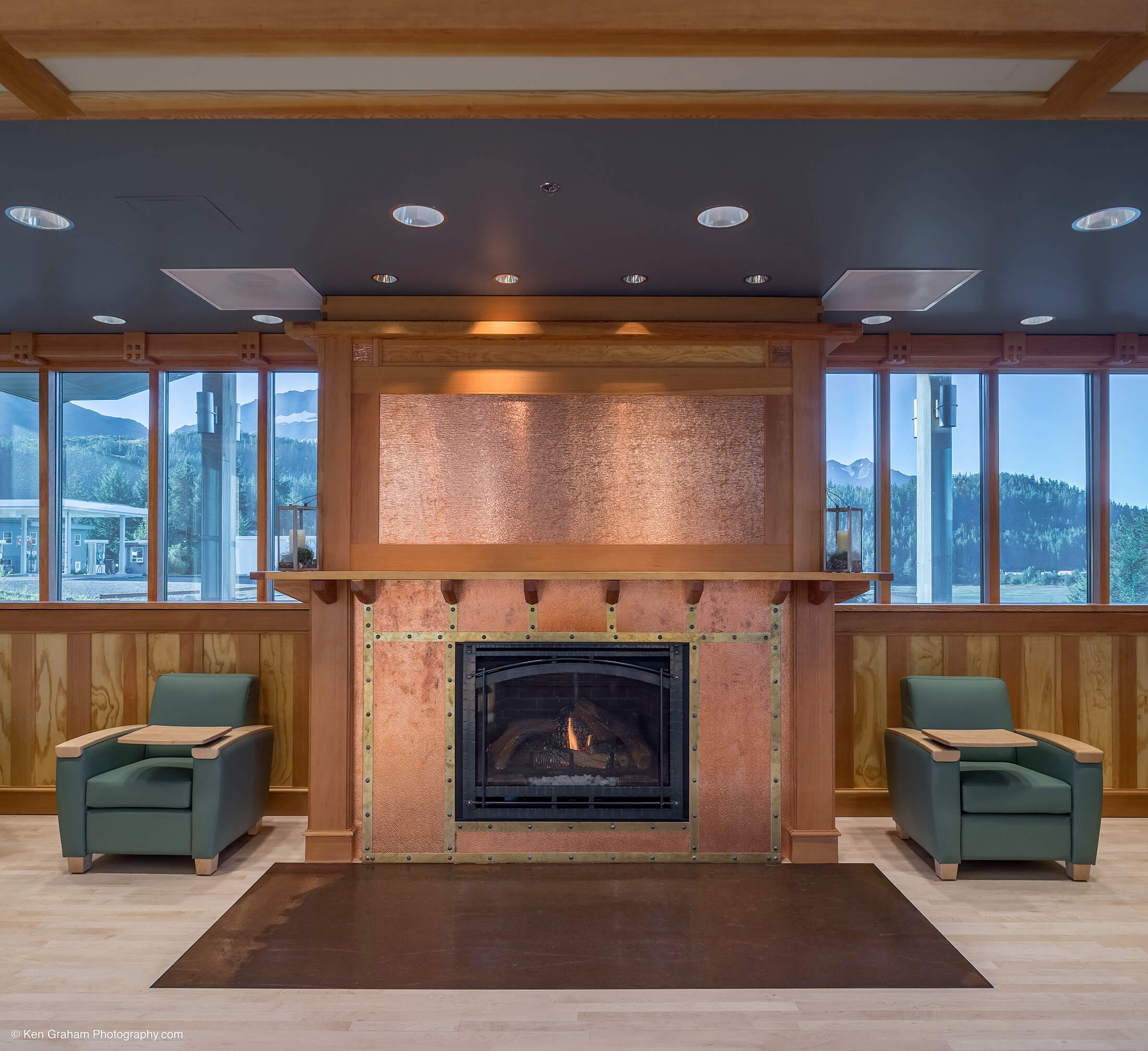 Cordova Center Phase II Fireplace