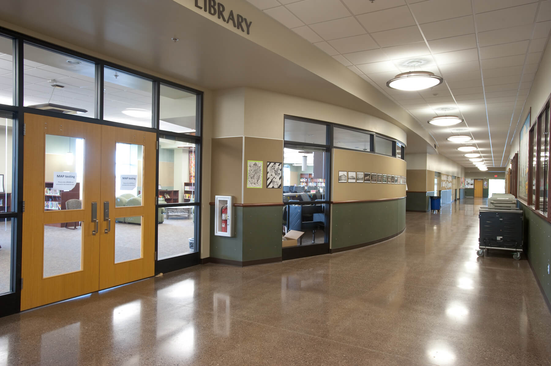 Expand Whatcom Middle School Corridor