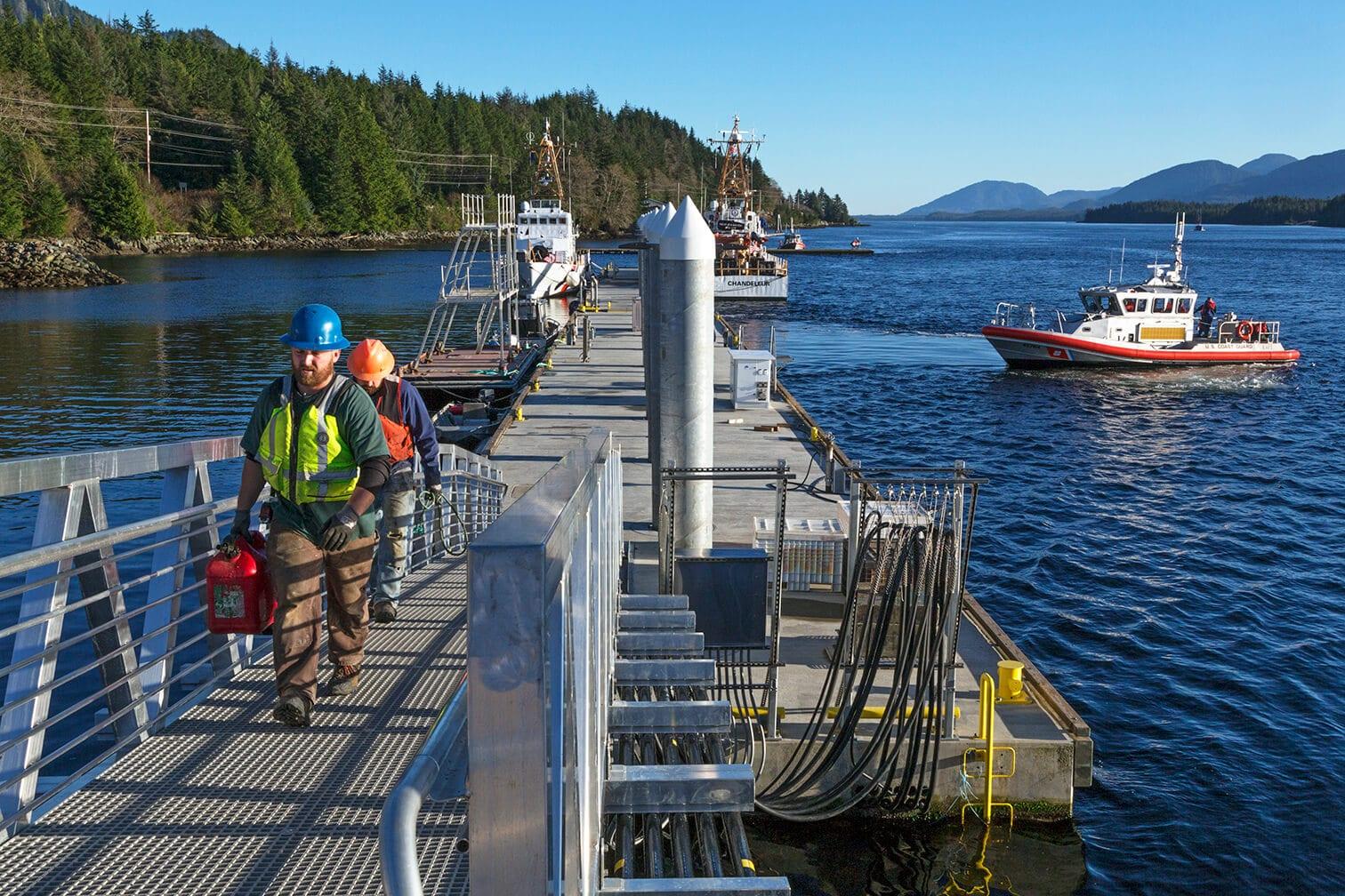 Expand USCG Cutter Homeport Dock