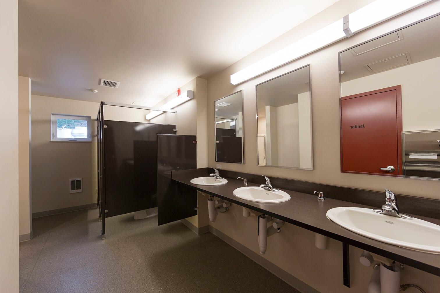 Expand Alaska Seafood's Bunkhouse Bathroom