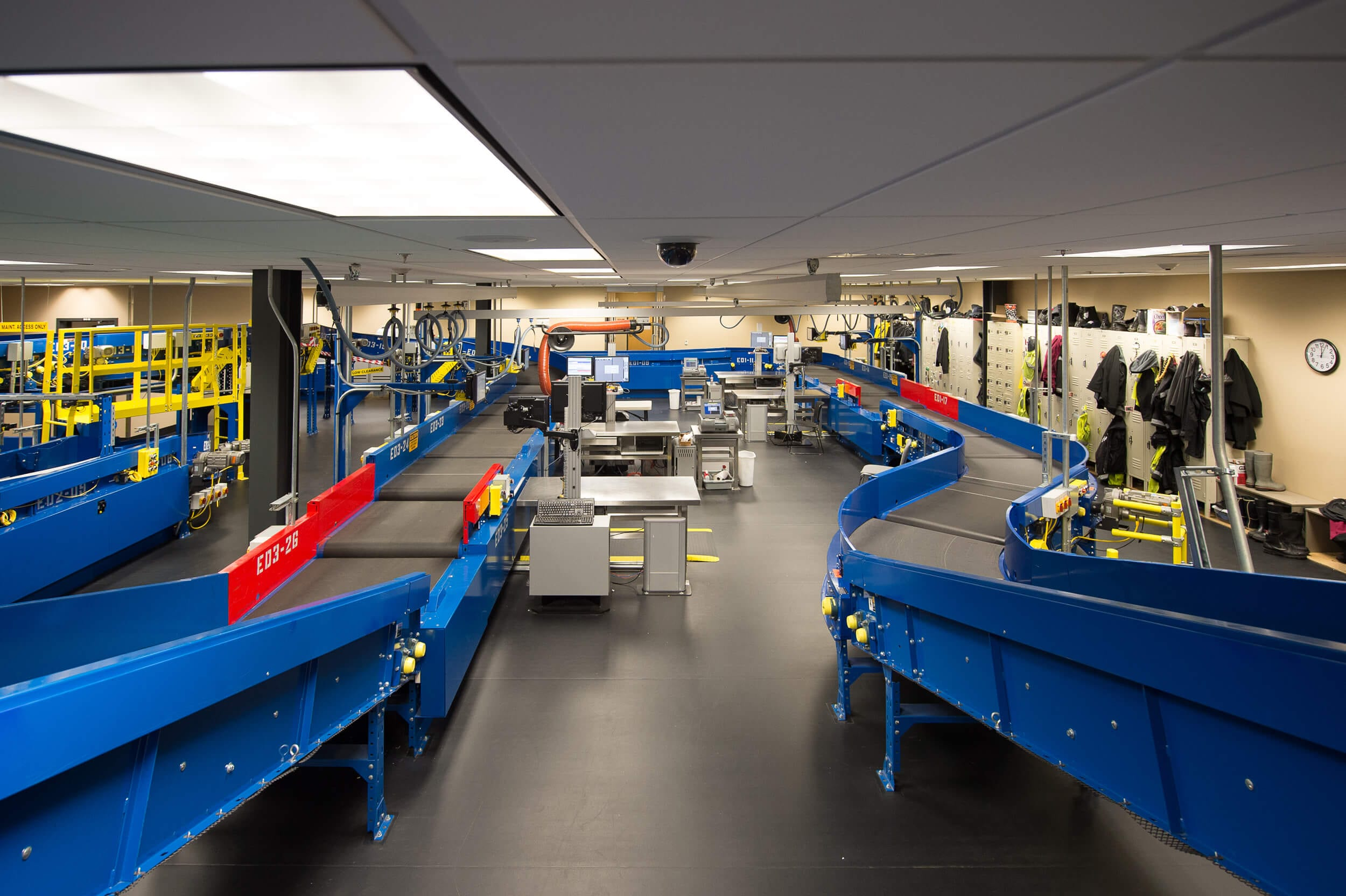Expand Bellingham International Airport Baggage System