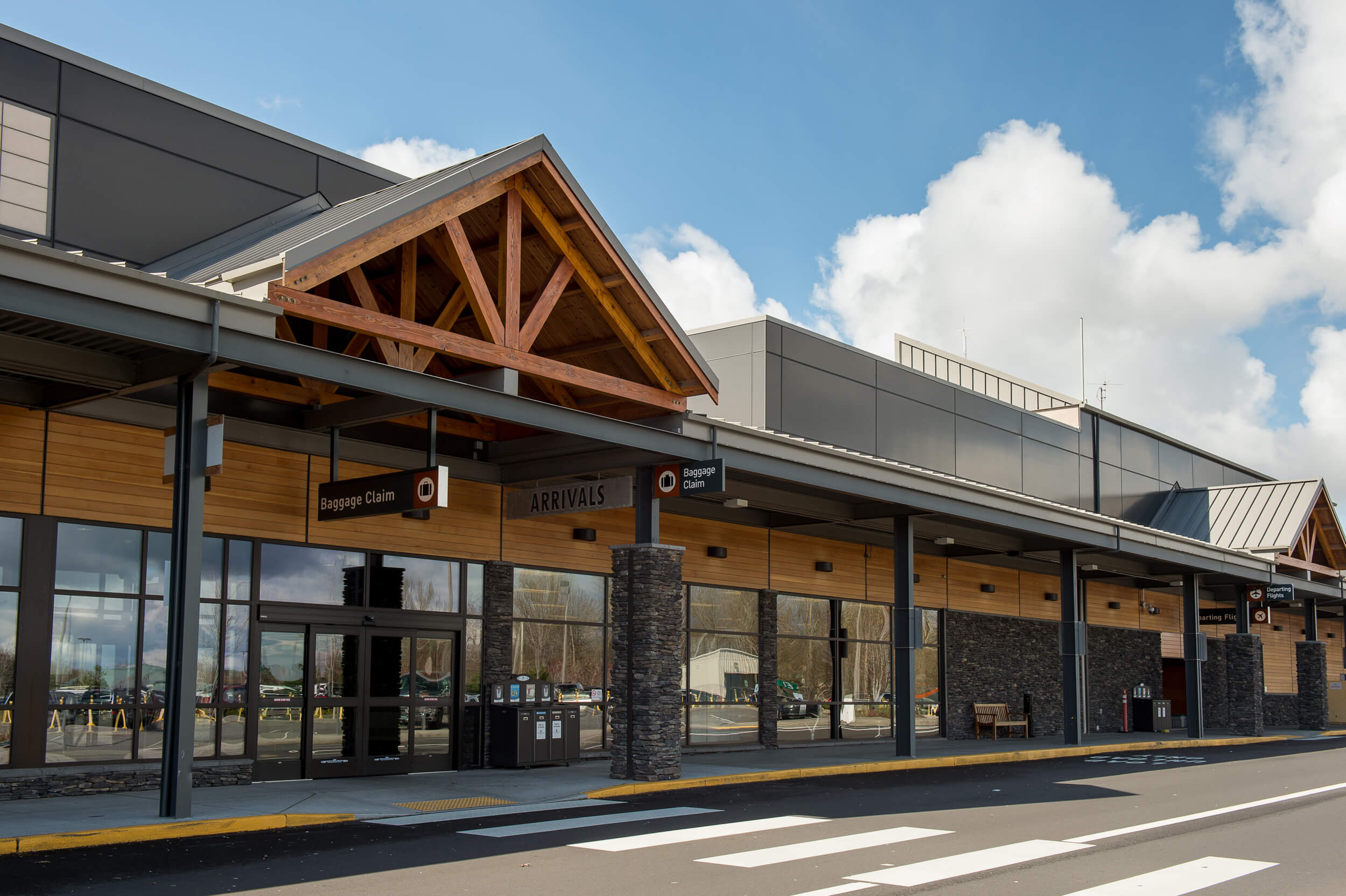 Expand Bellingham International Airport Exterior