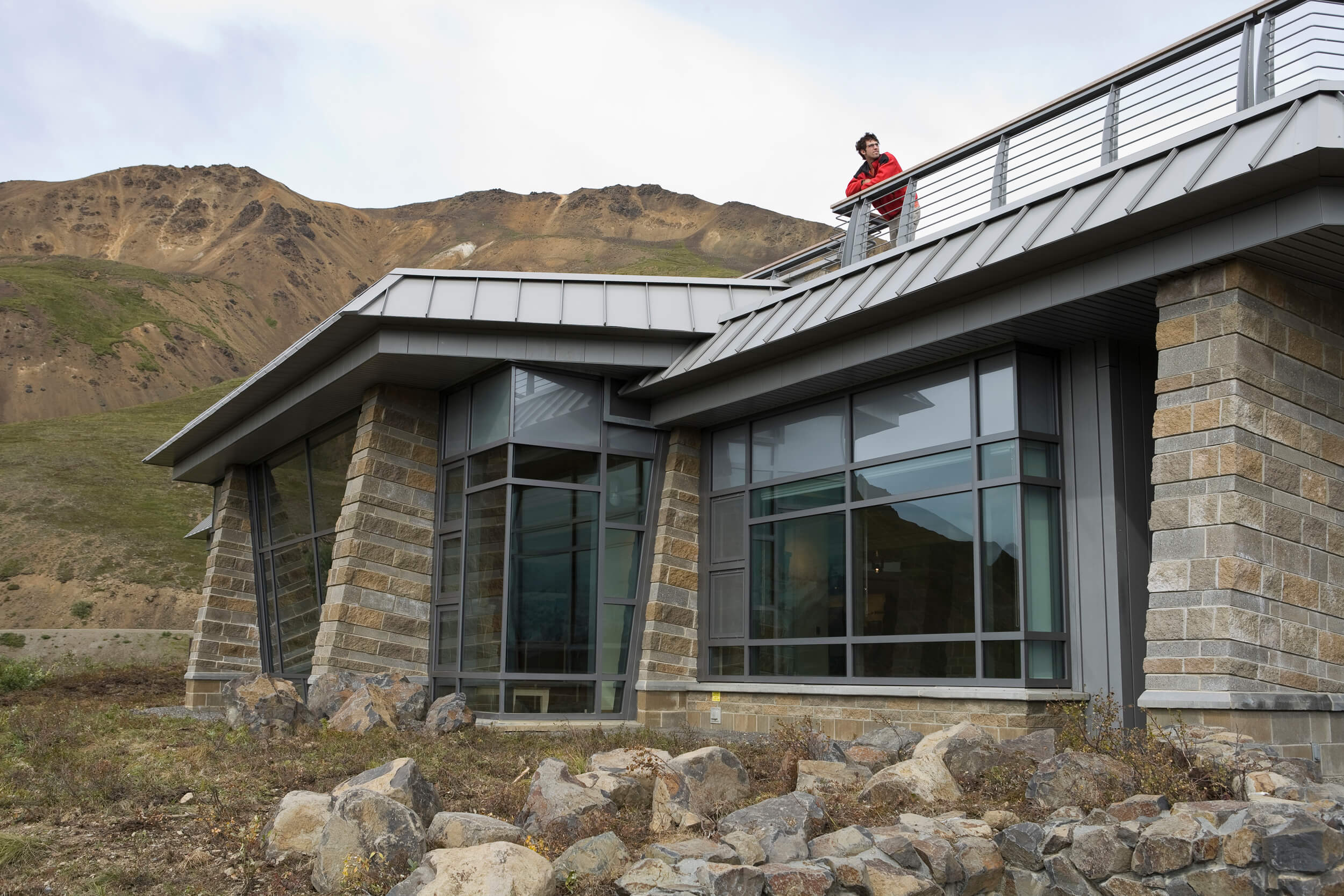 Expand Denali Eielson Visitor Center Viewing Deck