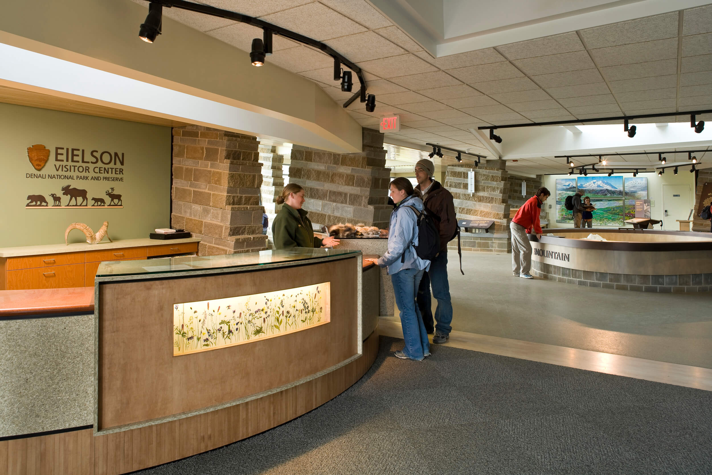 Expand Denali Eielson Visitor Center Front Desk