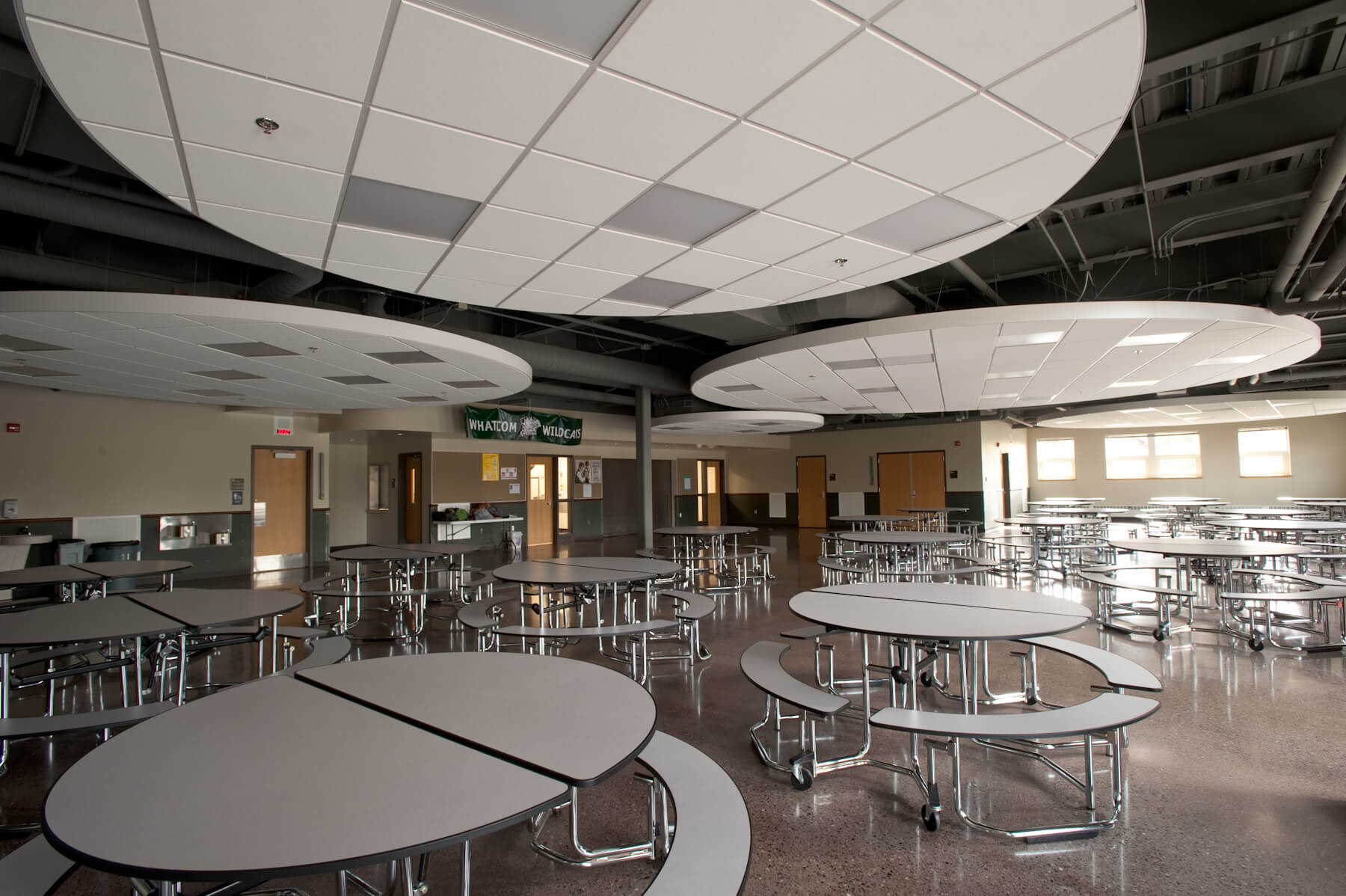 Expand Whatcom Middle School Commons Area