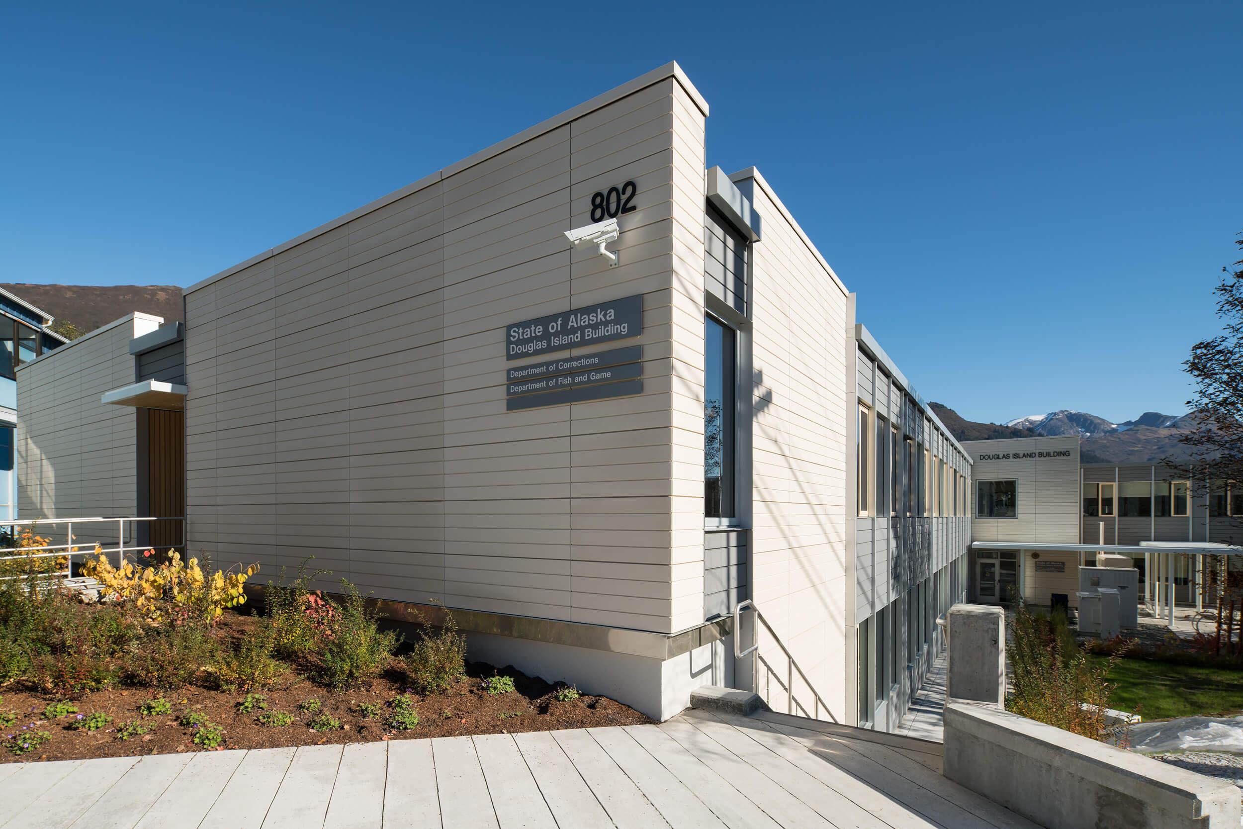 Expand Douglas Island Building Renovation Exterior