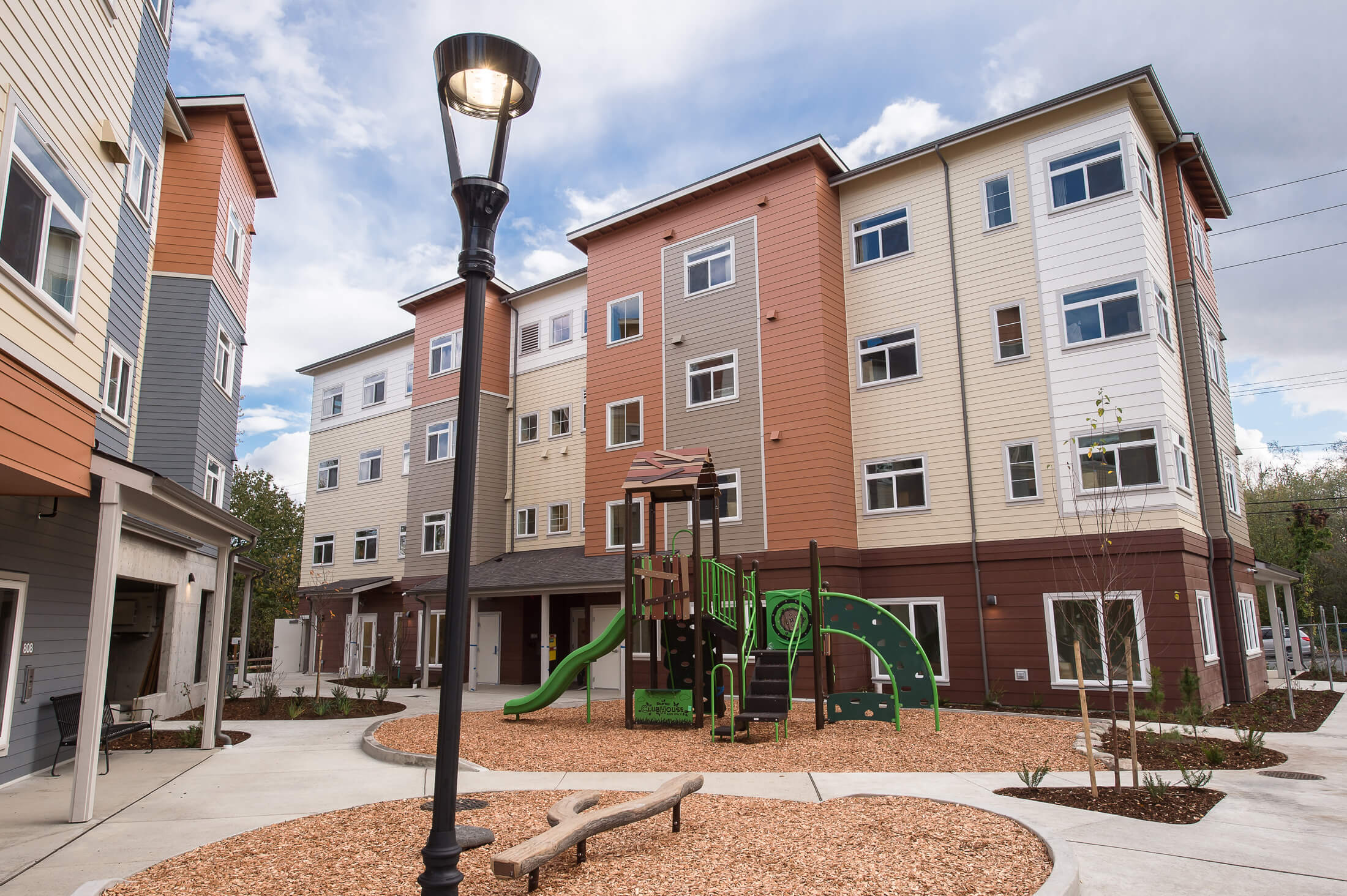 Expand Bakerview Family Housing Exterior