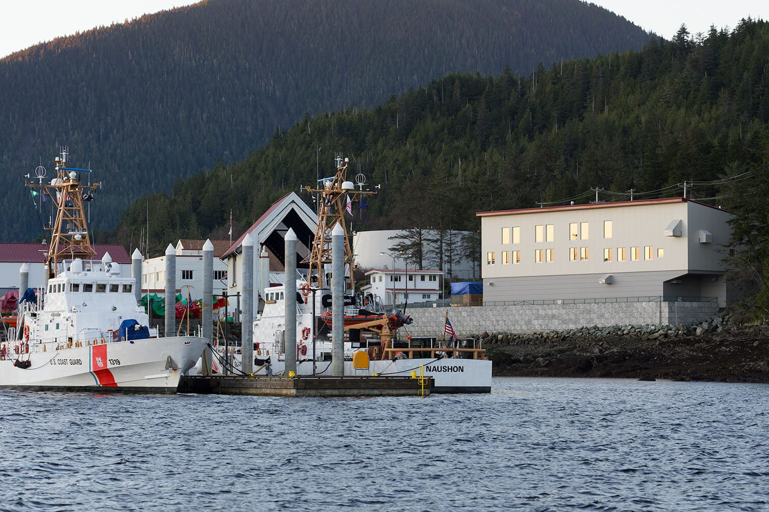Expand USCG Cutter Homeport from the Water
