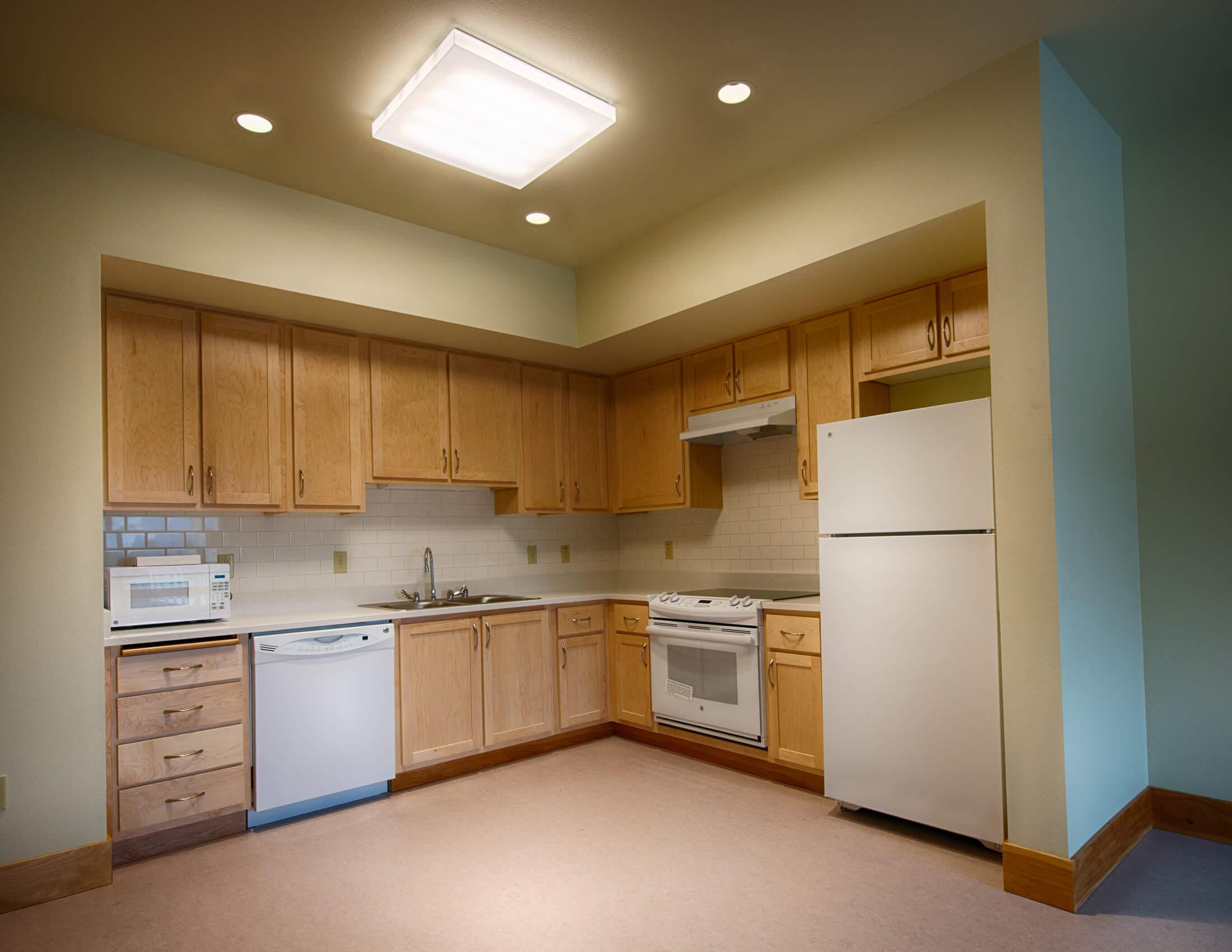 Expand Veteran's Village Kitchen Interior