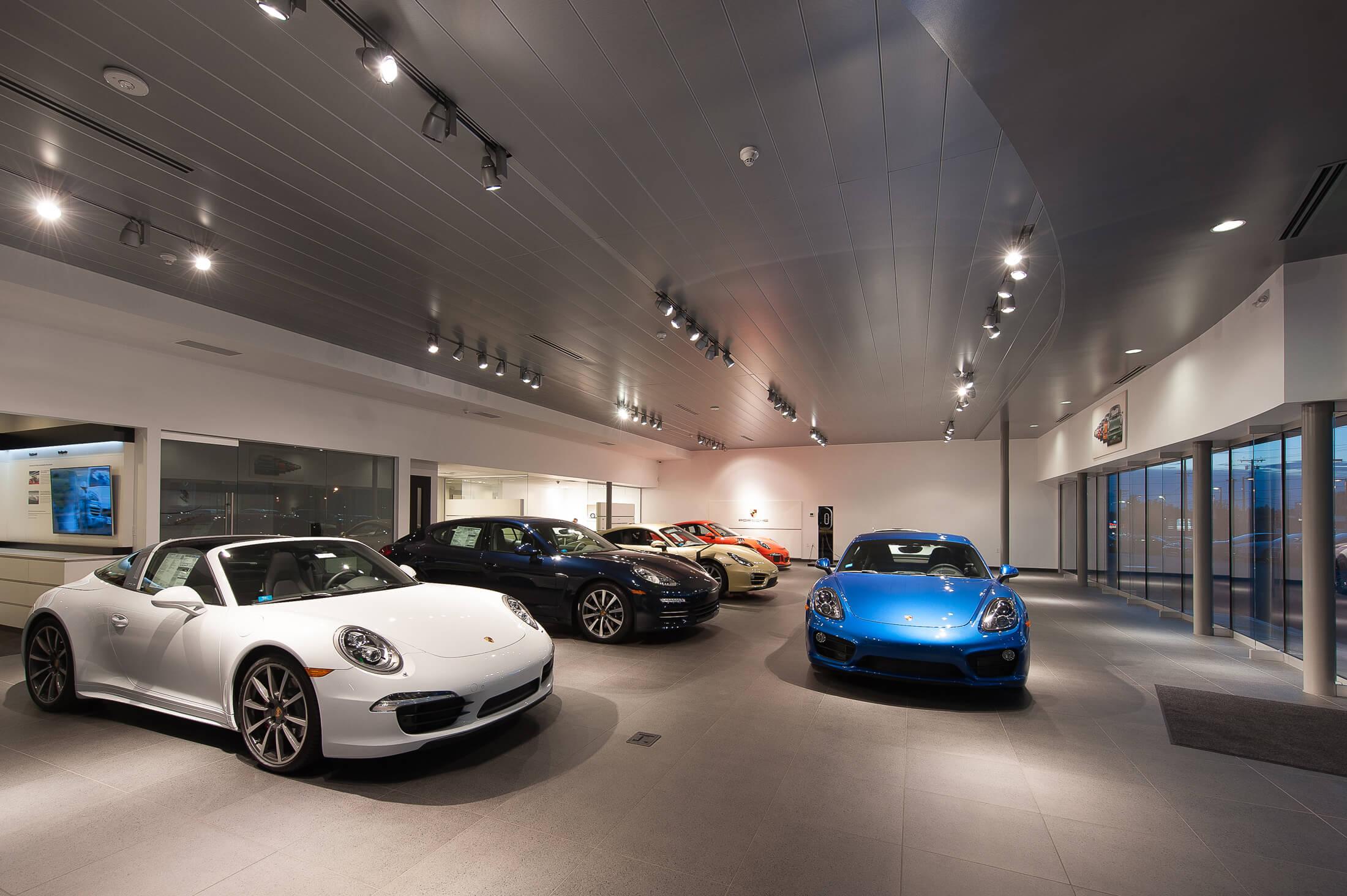 Expand Roger Jobs Motors Showroom