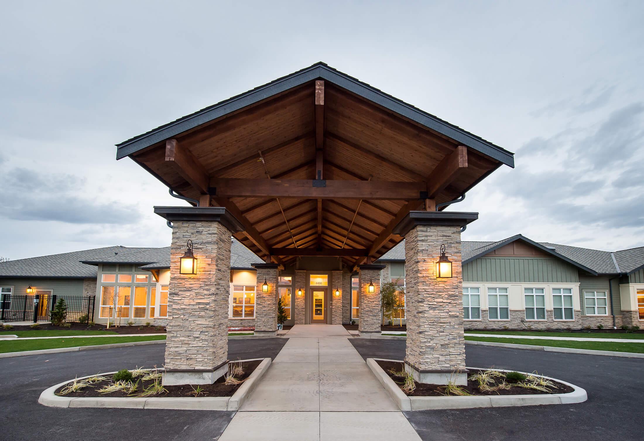 Expand Silverado Care Entrance