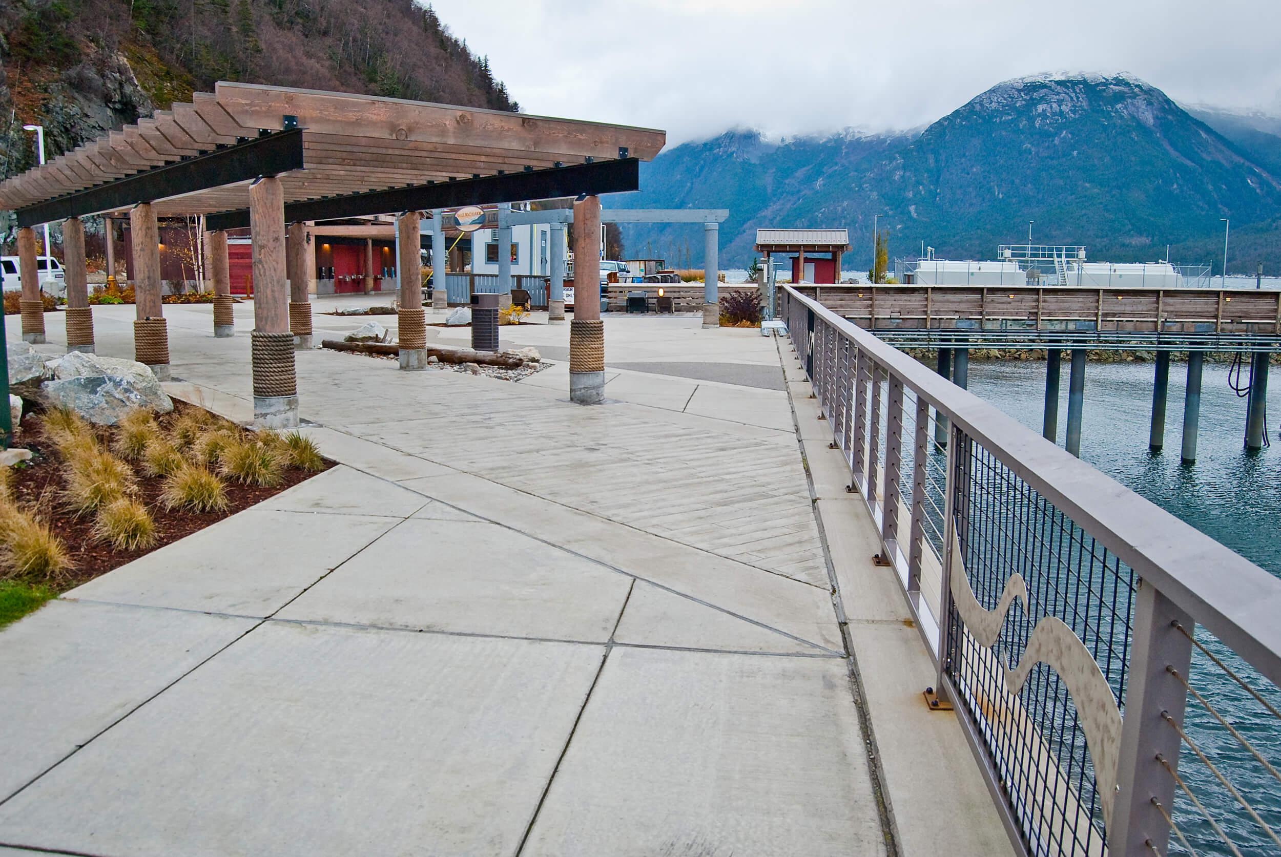 Expand Skagway Seawalk Walkway