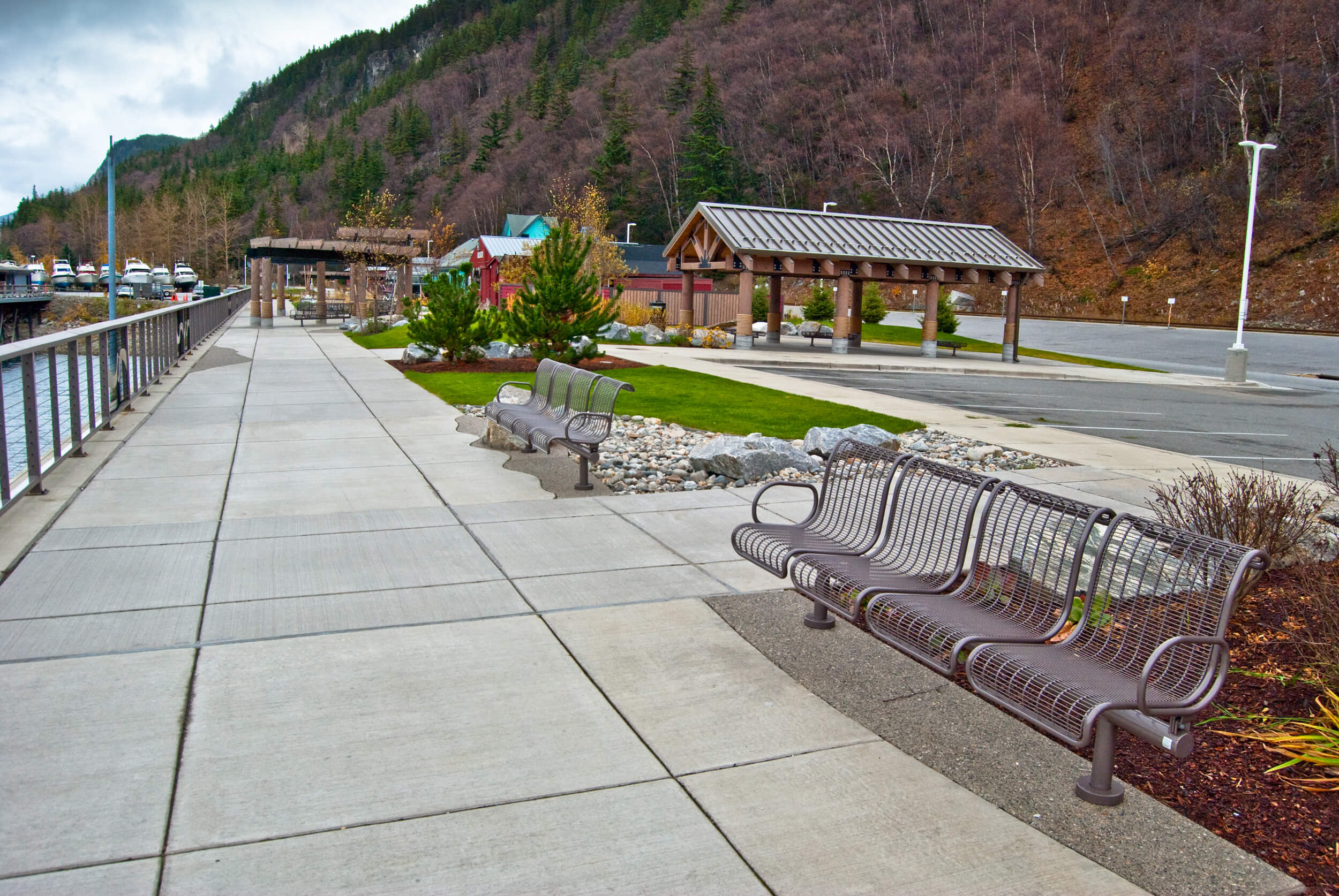 Expand Skagway Seawalk Bench
