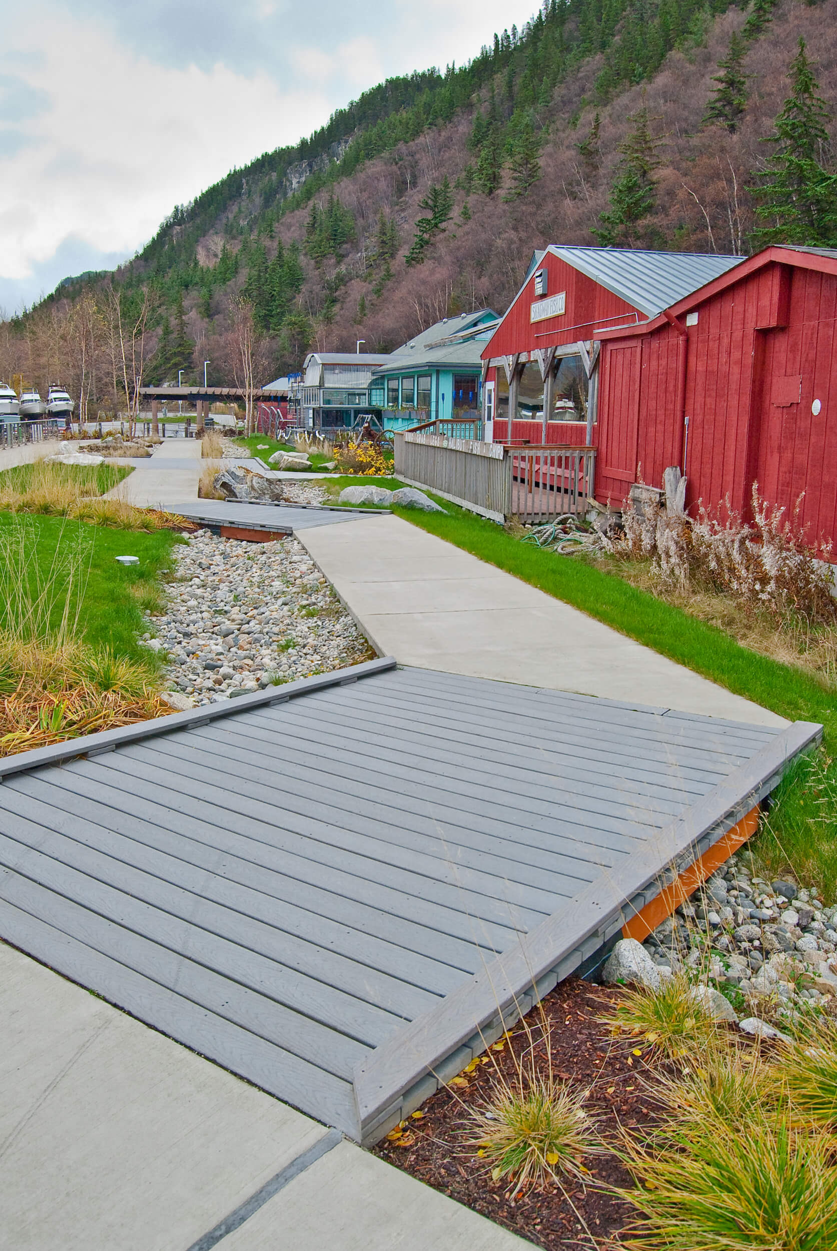 Expand Skagway Seawalk Small Bridge
