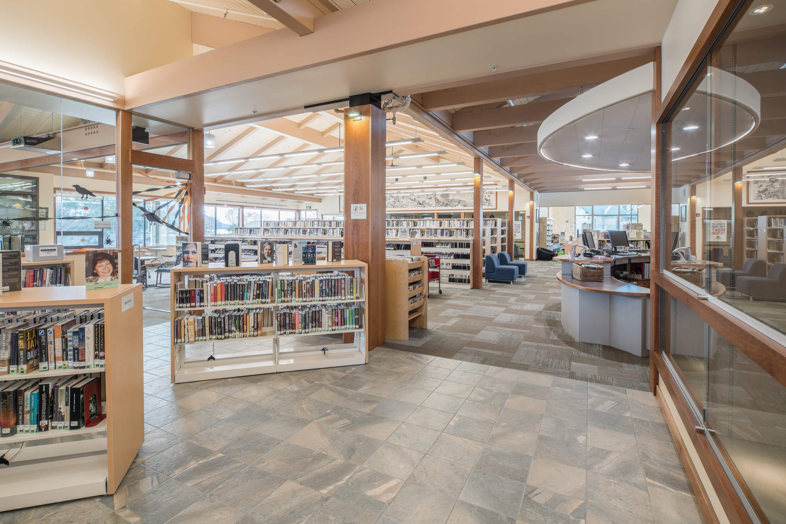 Expand Kettleson Memorial Library Main Entrance