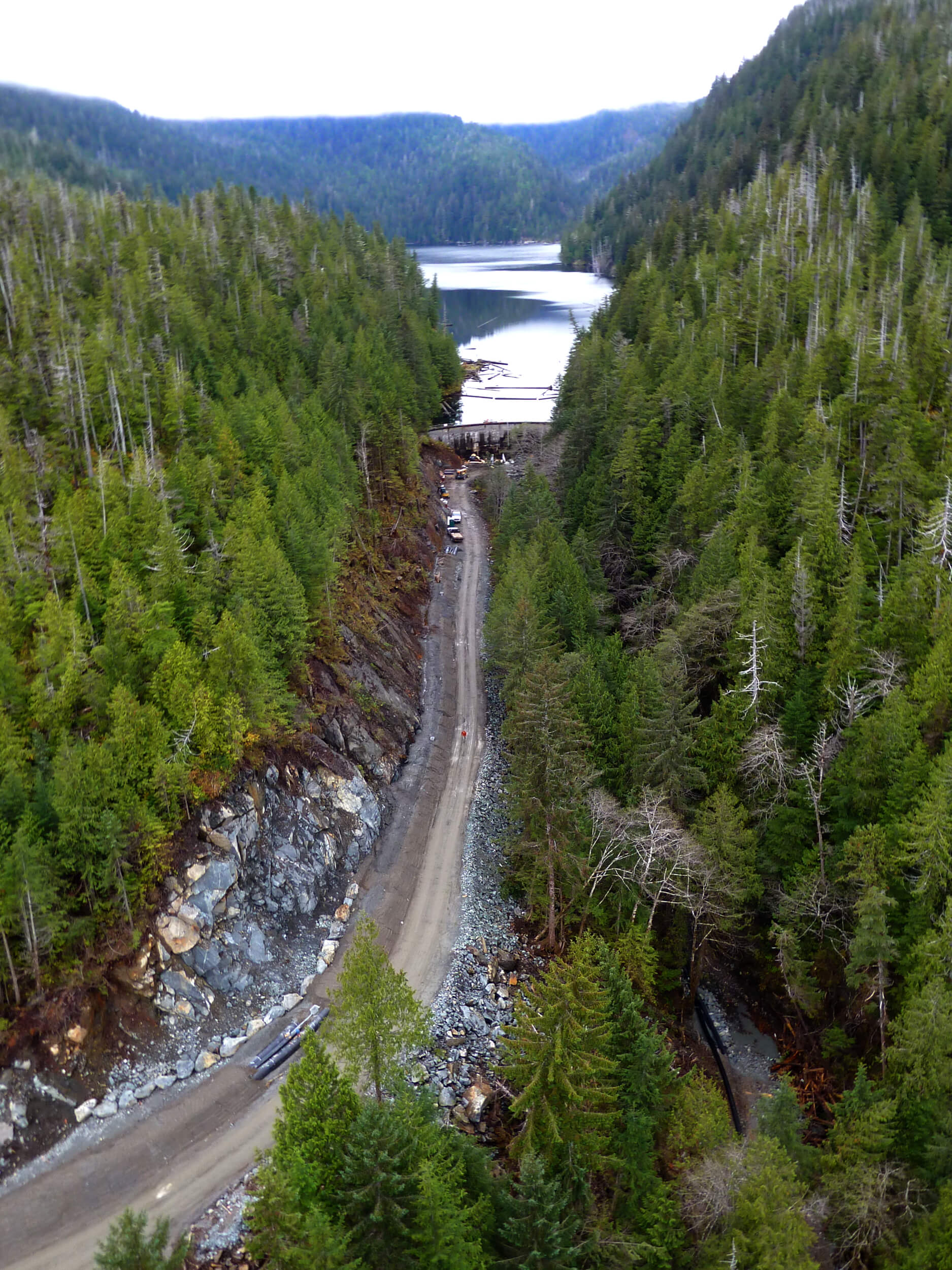 Expand Road to Whitman Lake Hydroelectric