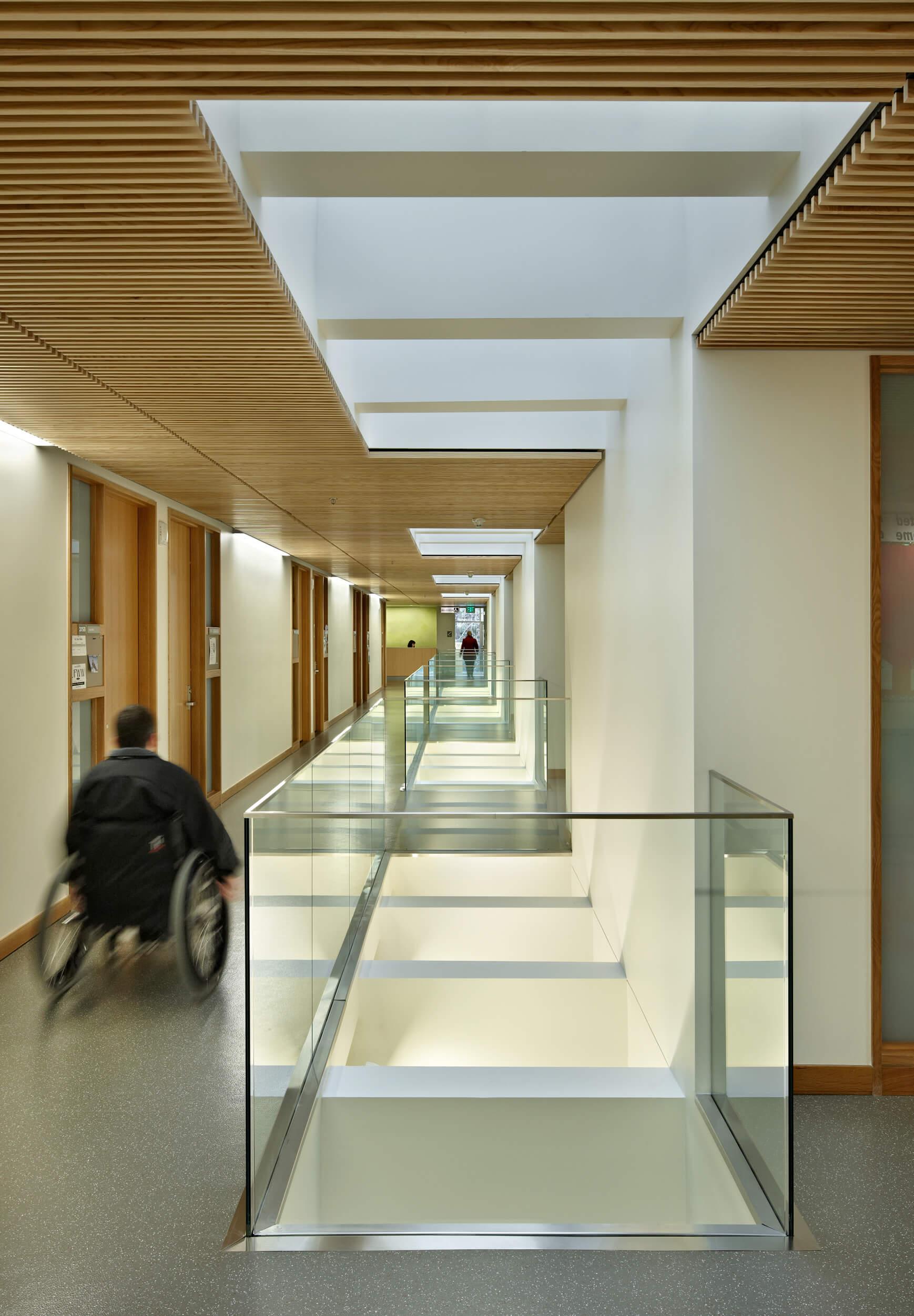 Expand WWU Miller Hall Hallway