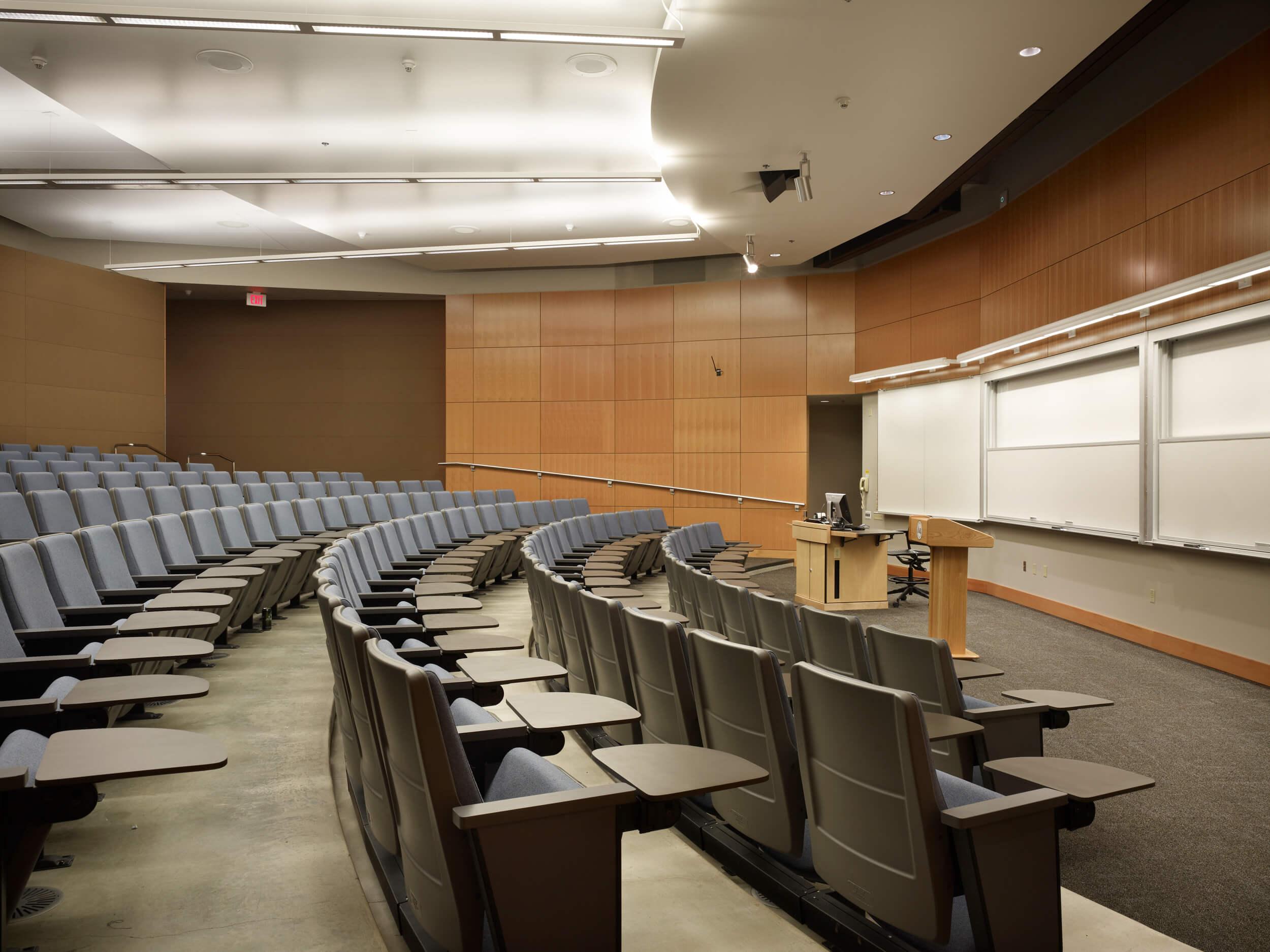Expand WWU Academic Instructional Center Auditorium