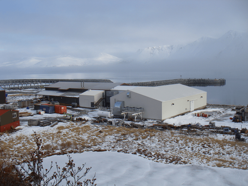 Expand Bering Pacific Seafood's Cold Storage unit